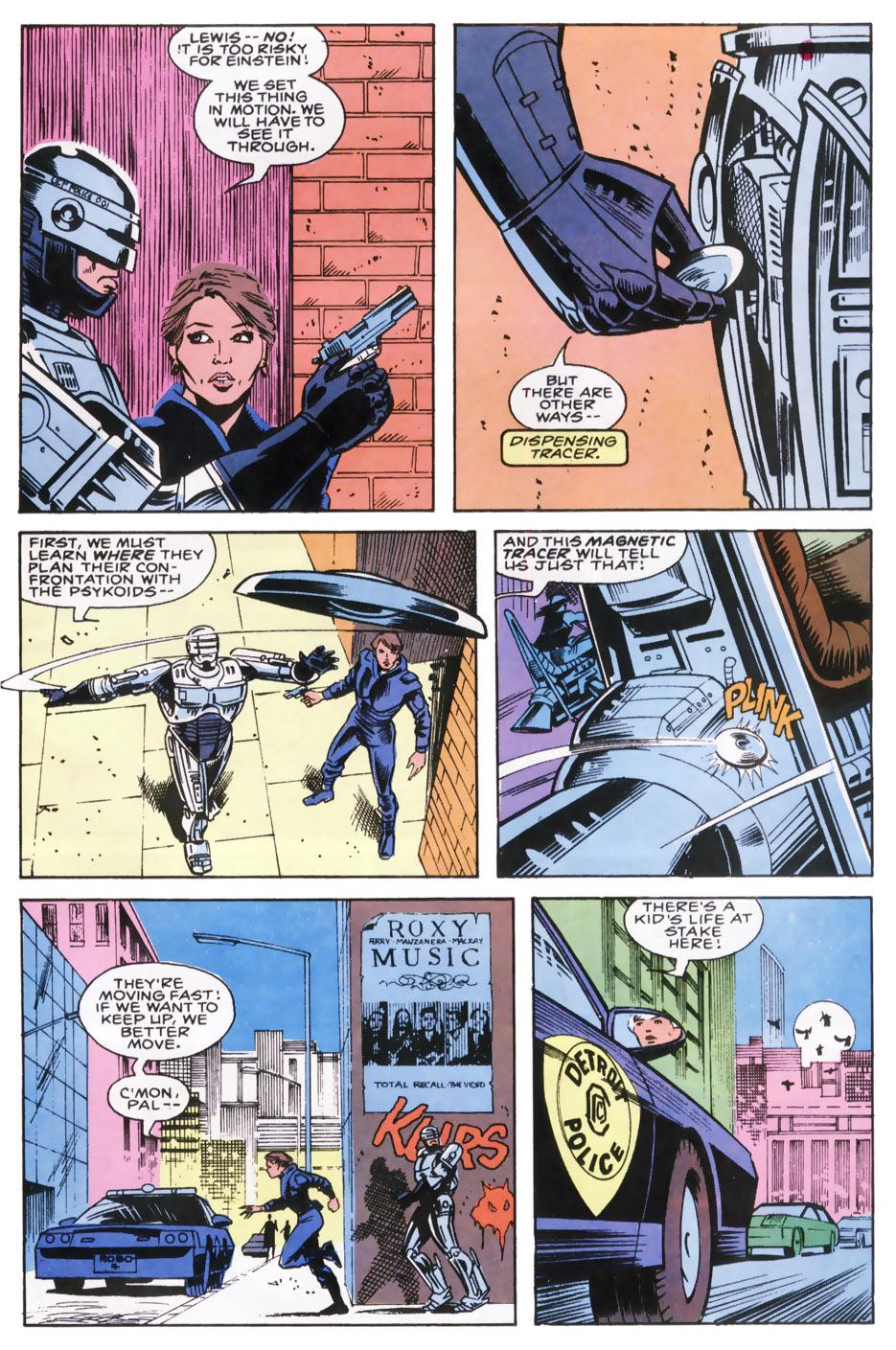Read online Robocop (1990) comic -  Issue #8 - 15