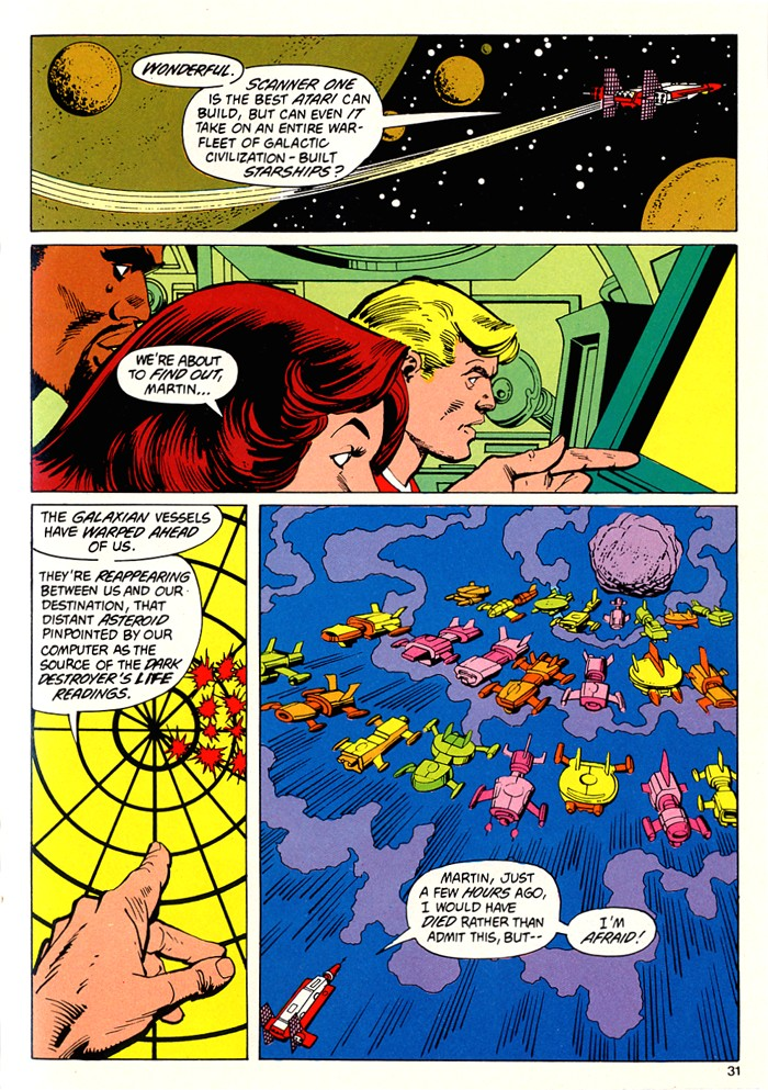 Read online Atari Force (1982) comic -  Issue #5 - 33