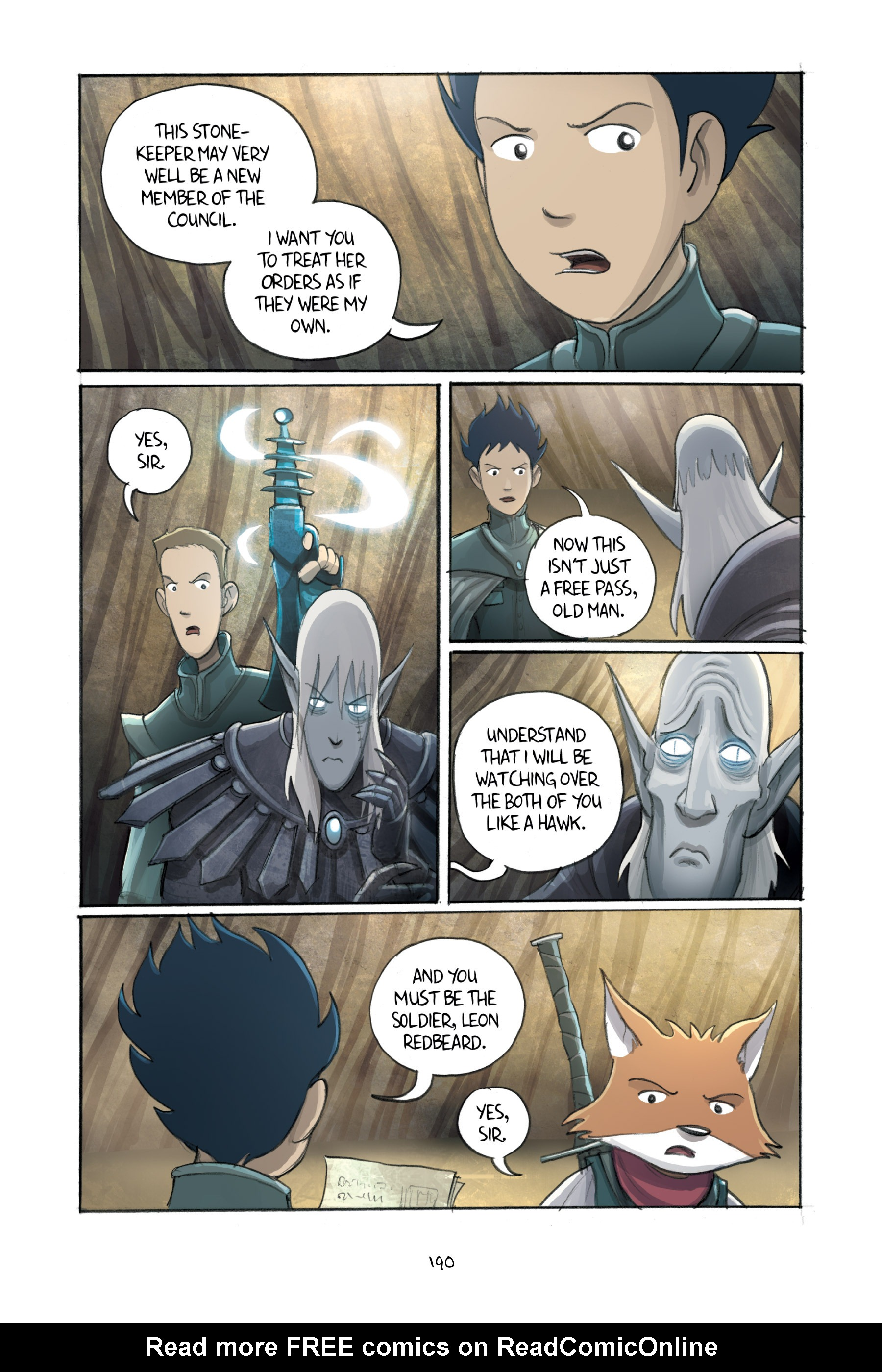 Read online Amulet comic -  Issue #3 - 186