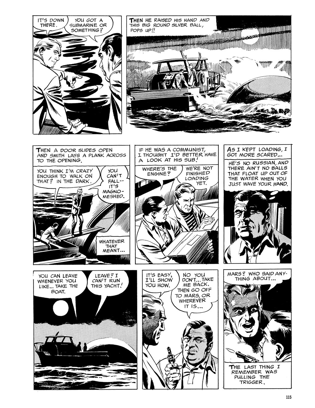 Read online Eerie Archives comic -  Issue # TPB 3 - 116
