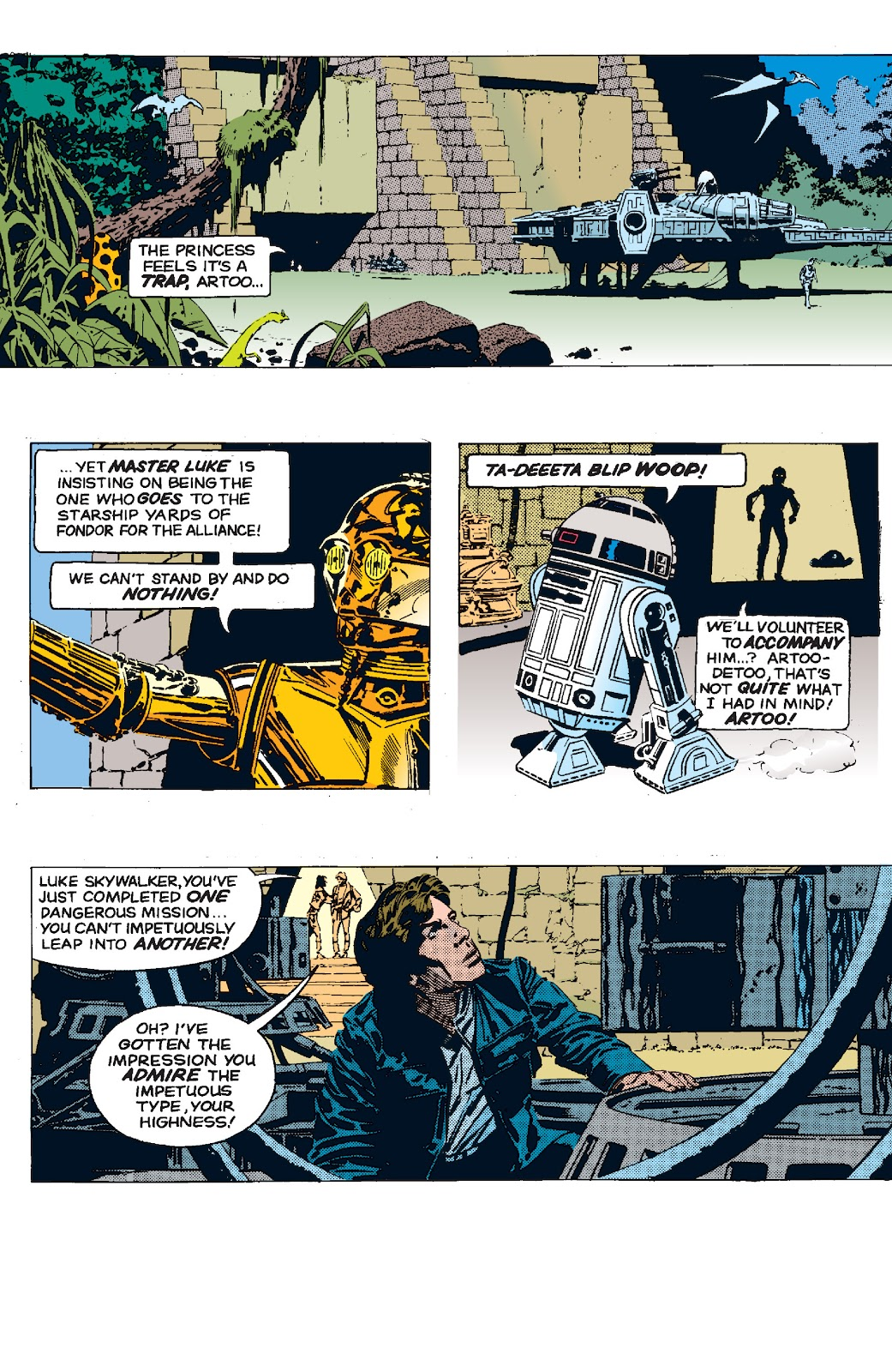 Read online Star Wars Legends: The Newspaper Strips - Epic Collection comic -  Issue # TPB (Part 5) - 37