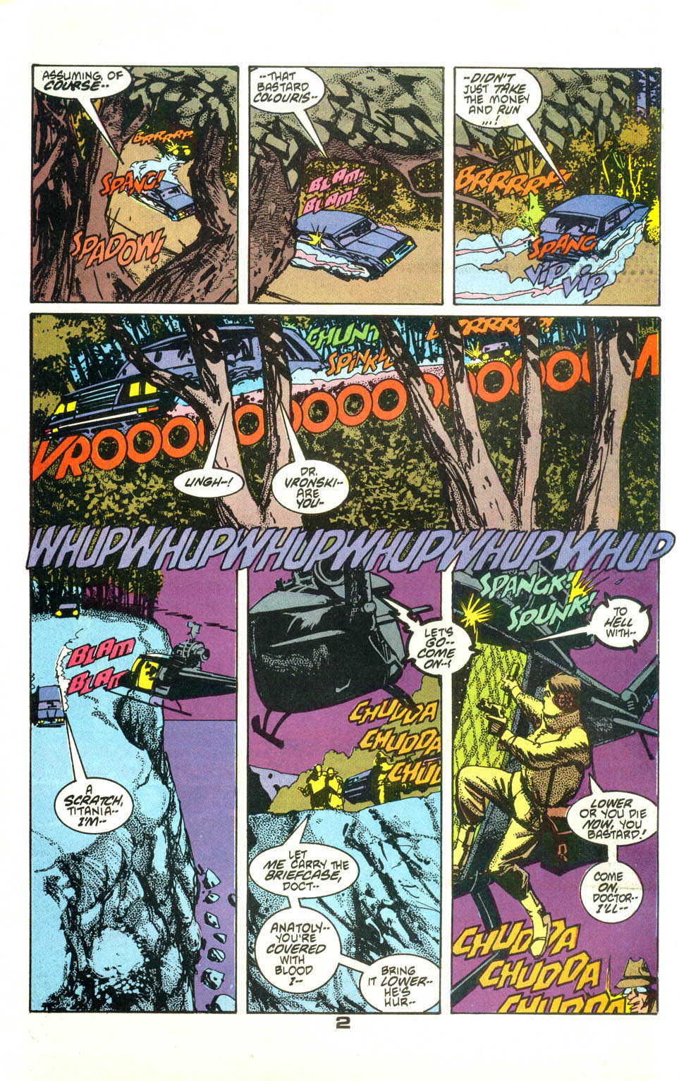 Read online American Flagg! comic -  Issue #23 - 3