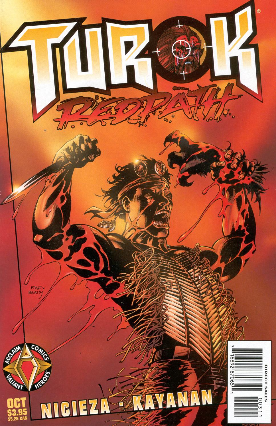 Read online Turok: Redpath comic -  Issue # Full - 1