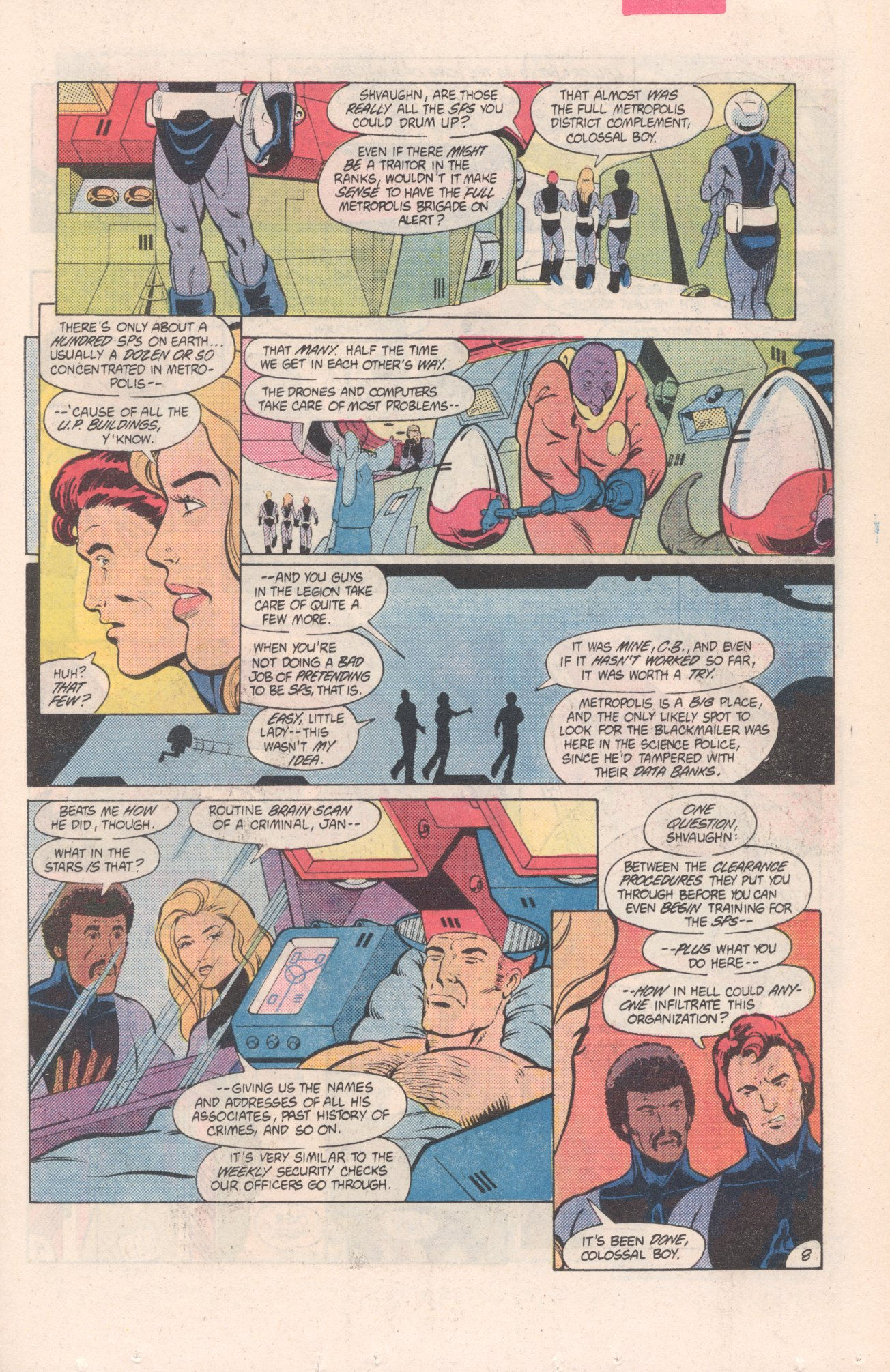 Legion of Super-Heroes (1980) 313 Page 8