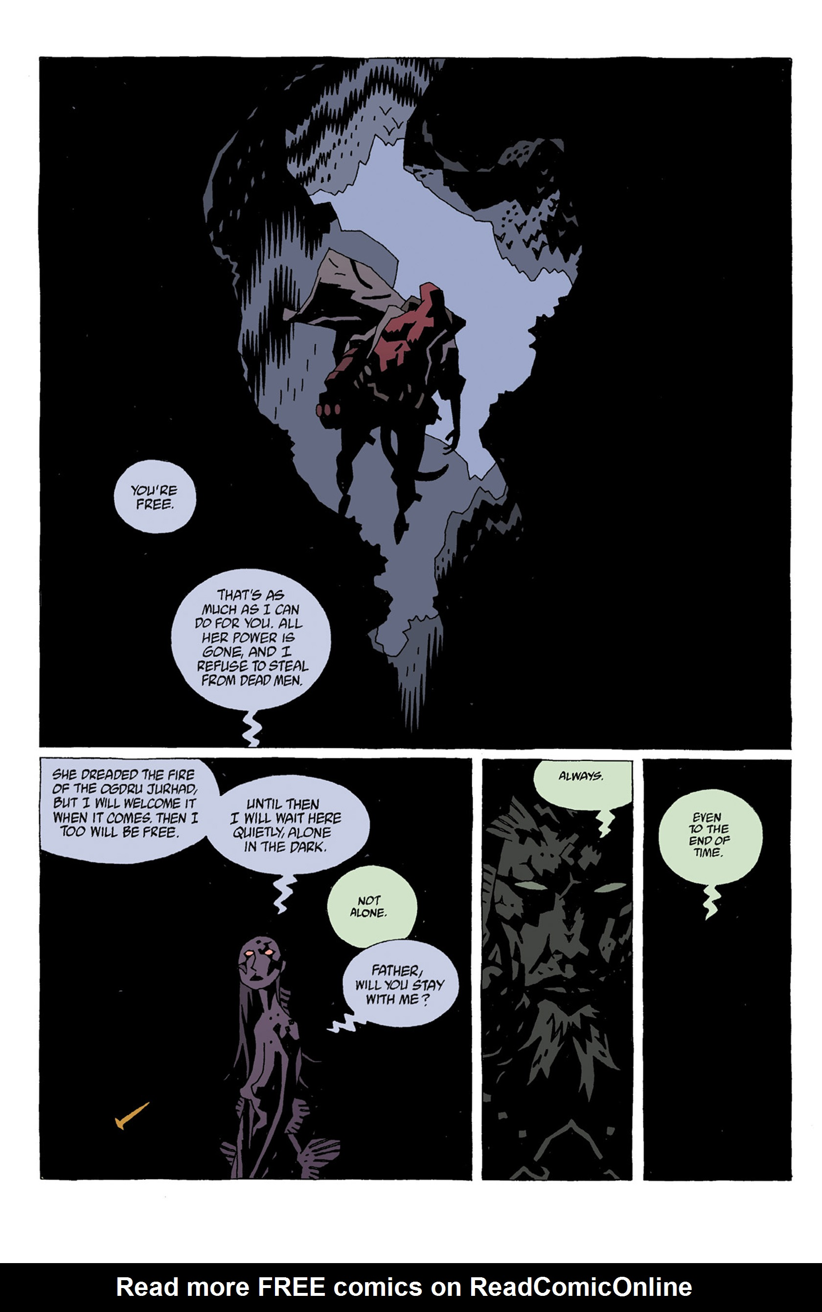 Read online Hellboy: Strange Places comic -  Issue # TPB - 64