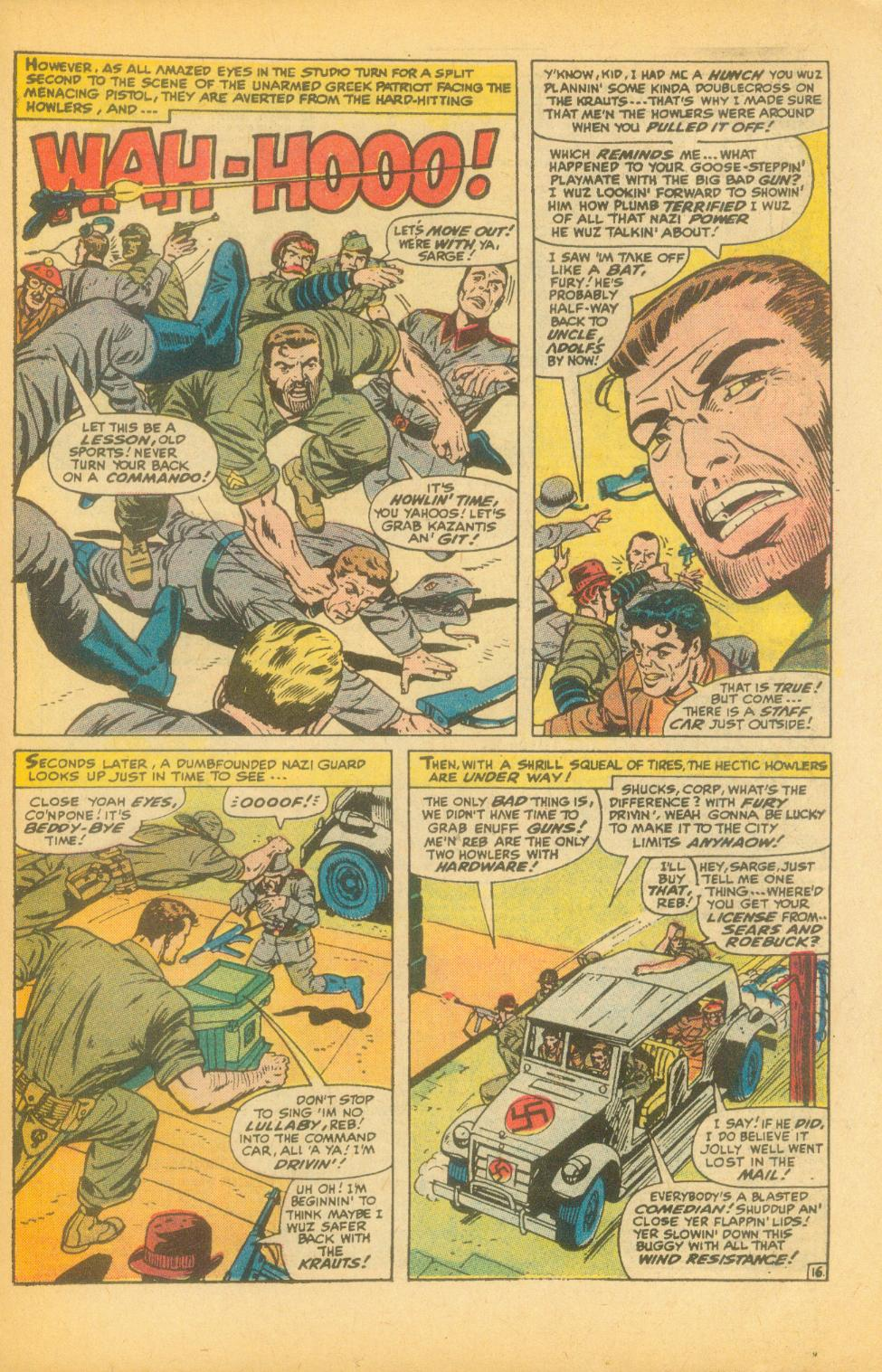 Read online Sgt. Fury comic -  Issue #99 - 23