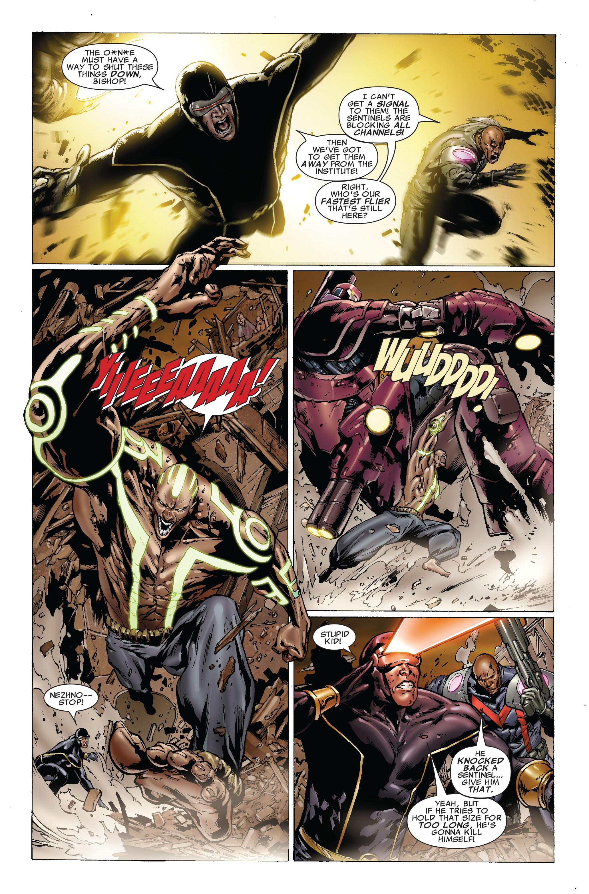 Read online Uncanny X-Men (1963) comic -  Issue #493 - 7