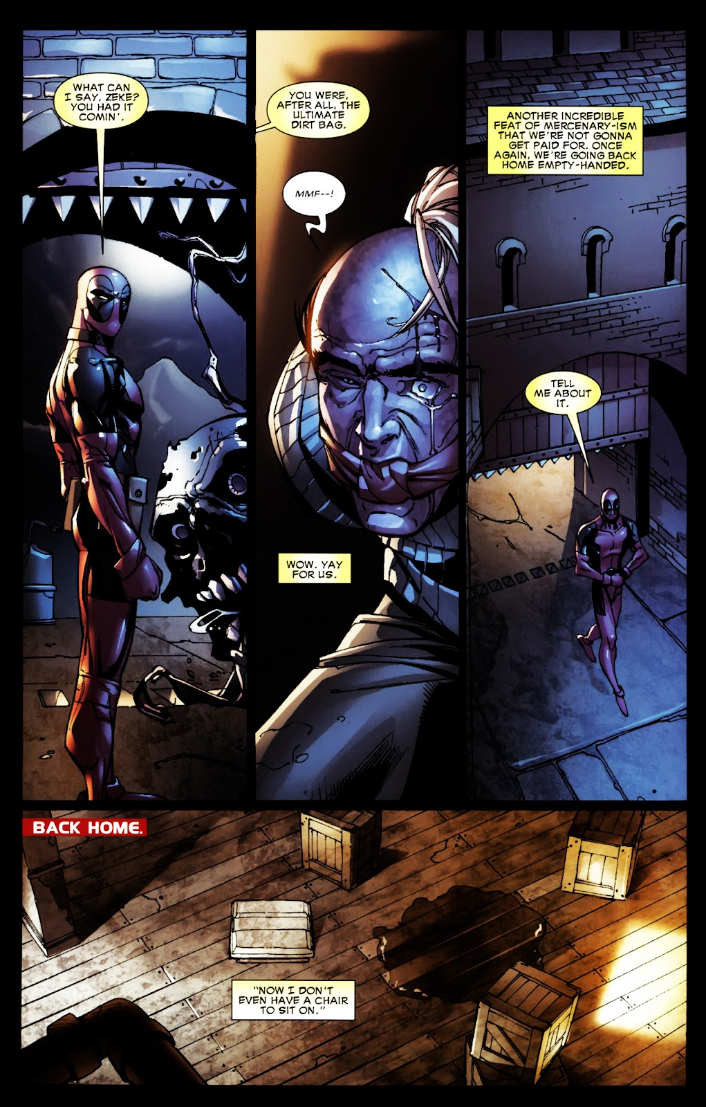 Read online Deadpool (2008) comic -  Issue #5 - 18