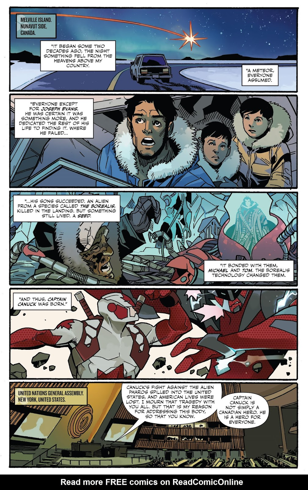 Captain Canuck: Invasion (Canada Day 2018) issue Full - Page 4