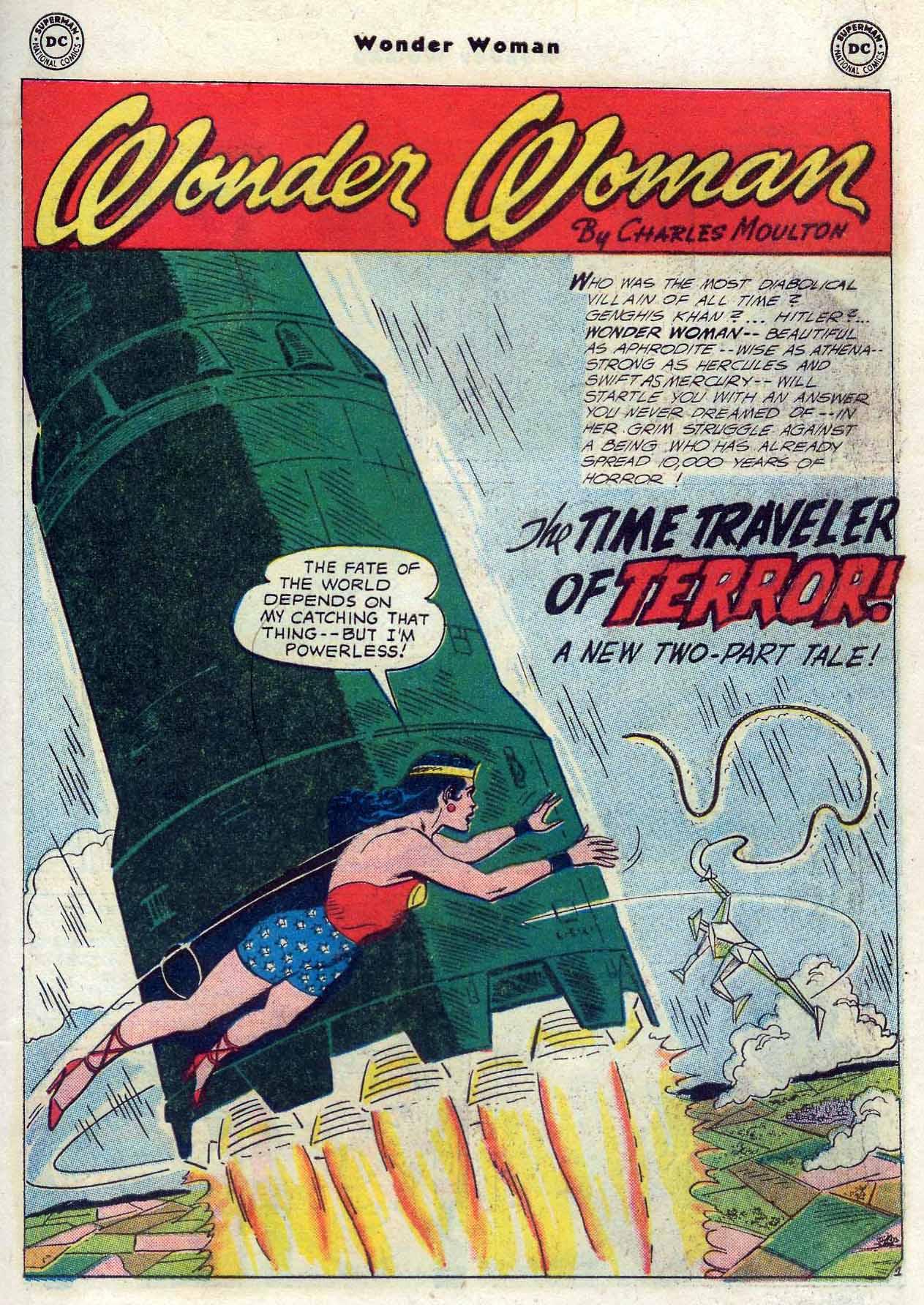 Read online Wonder Woman (1942) comic -  Issue #116 - 19