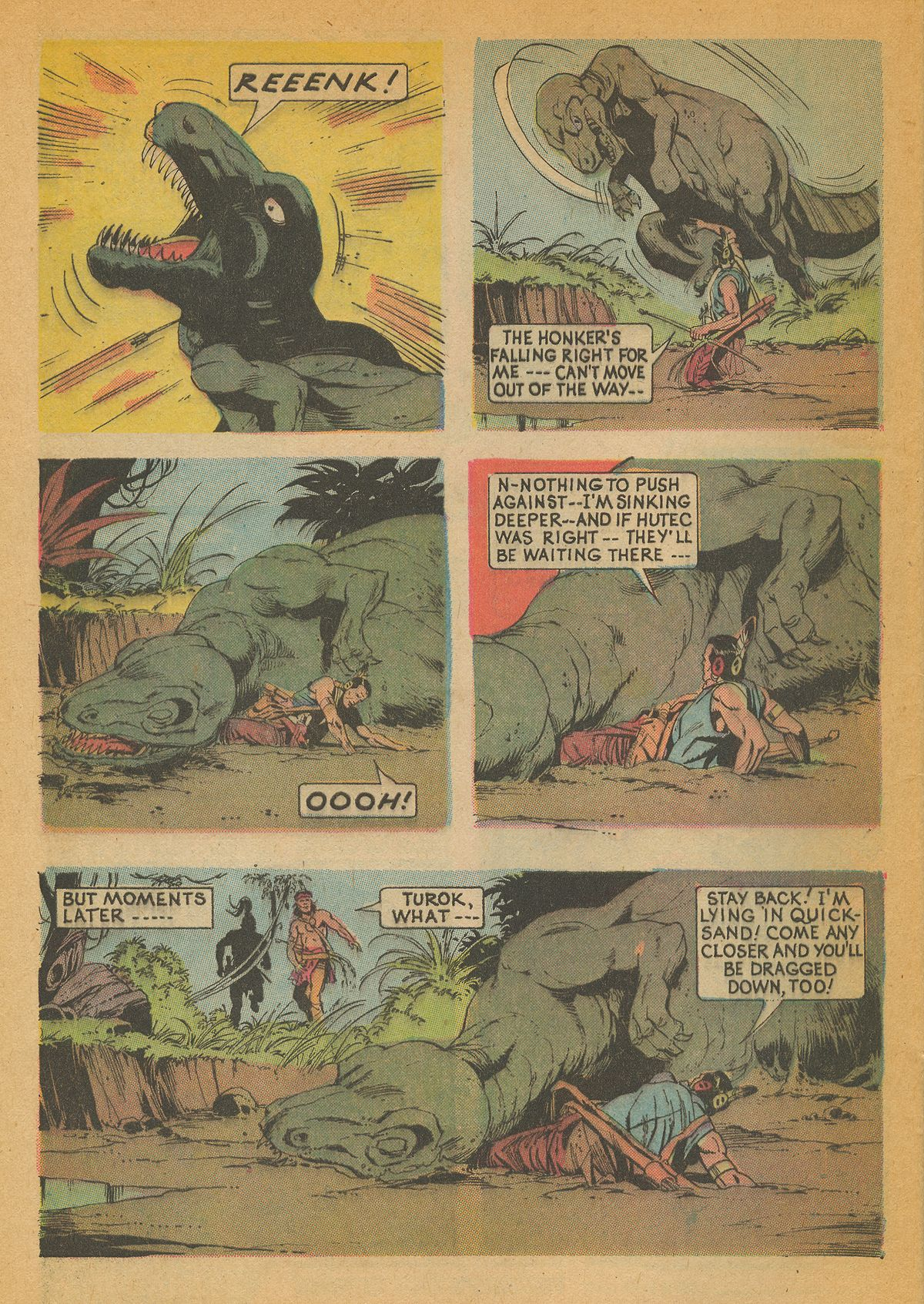 Read online Turok, Son of Stone comic -  Issue #85 - 32