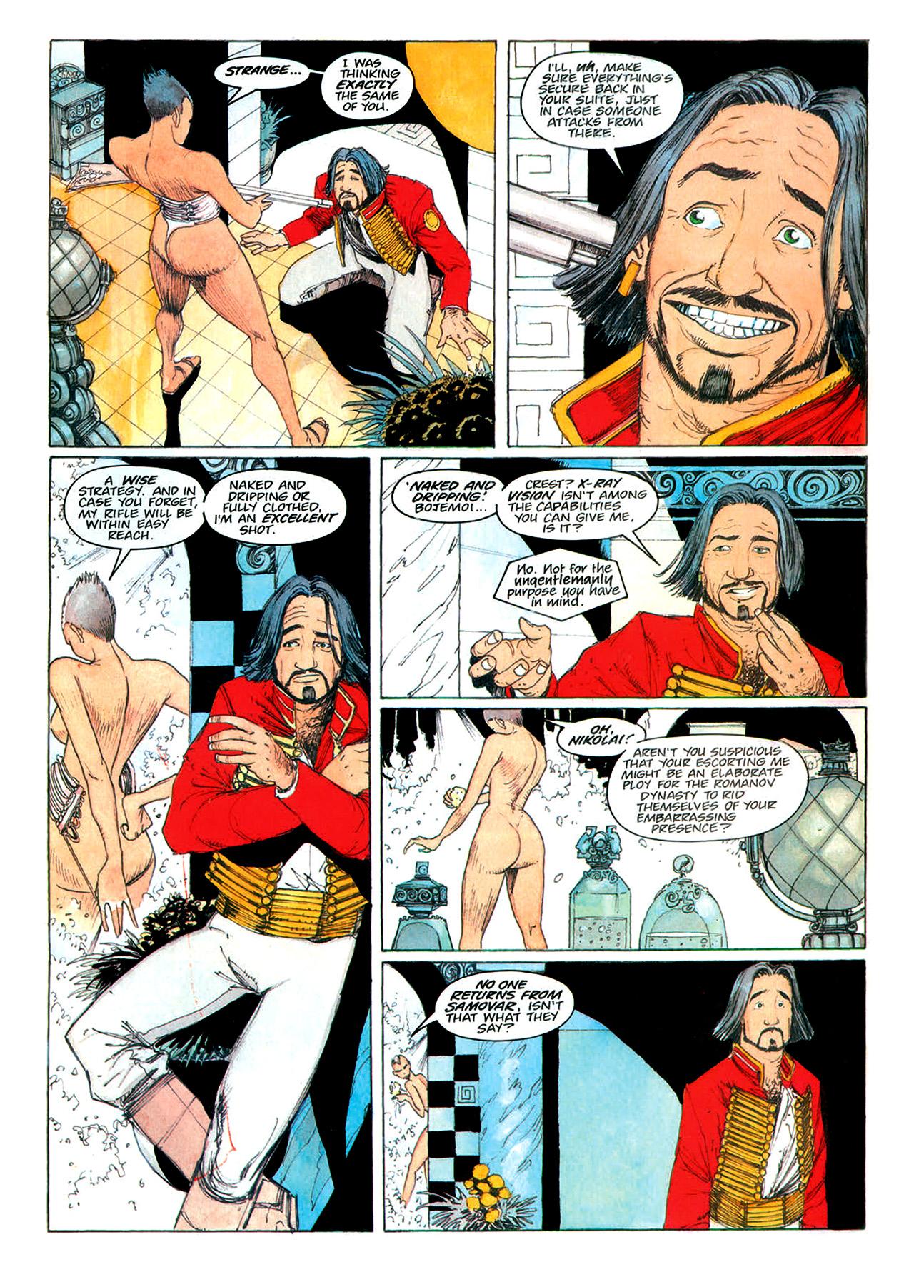 Read online Nikolai Dante comic -  Issue # TPB 1 - 158