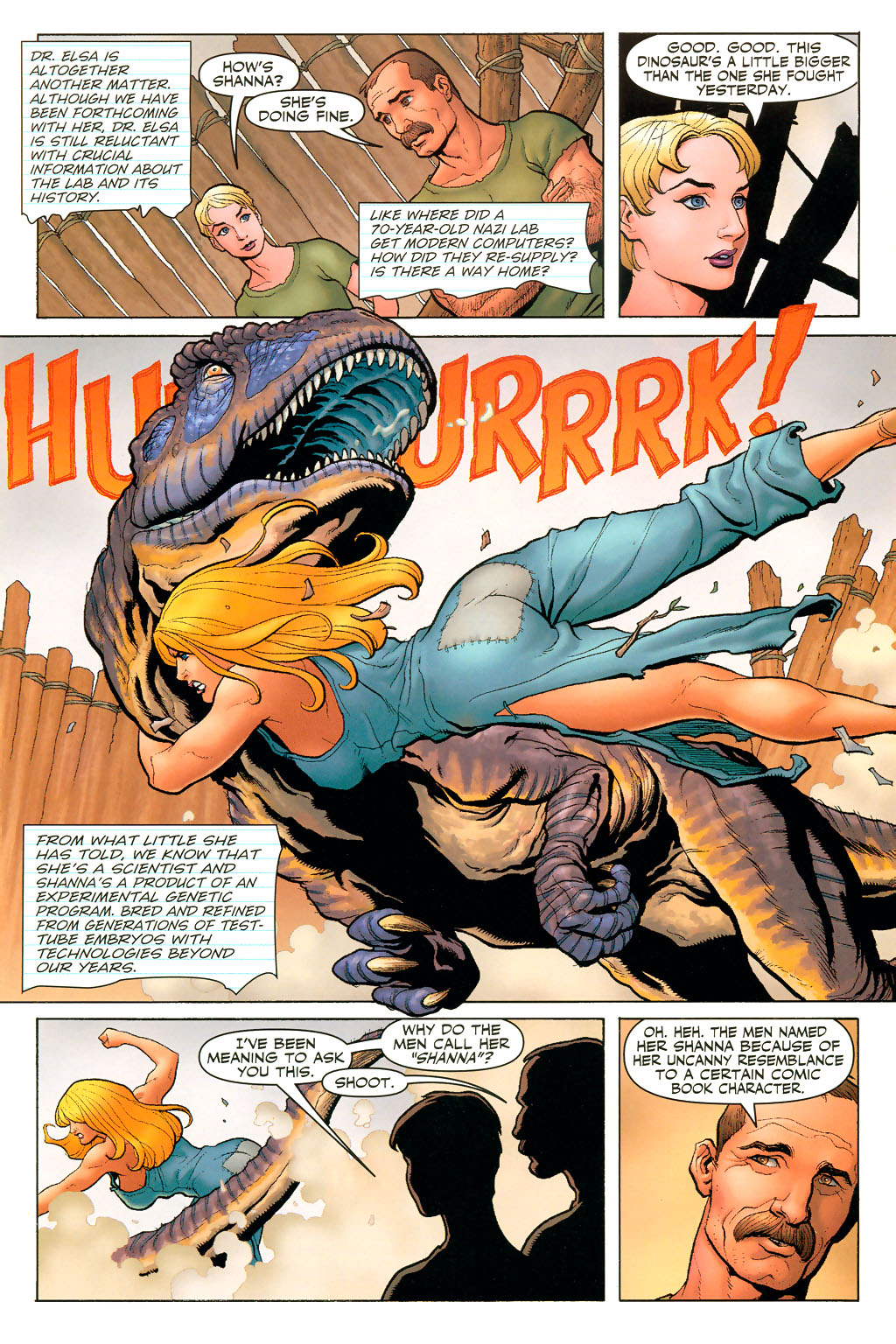 Read online Shanna, the She-Devil (2005) comic -  Issue #2 - 5