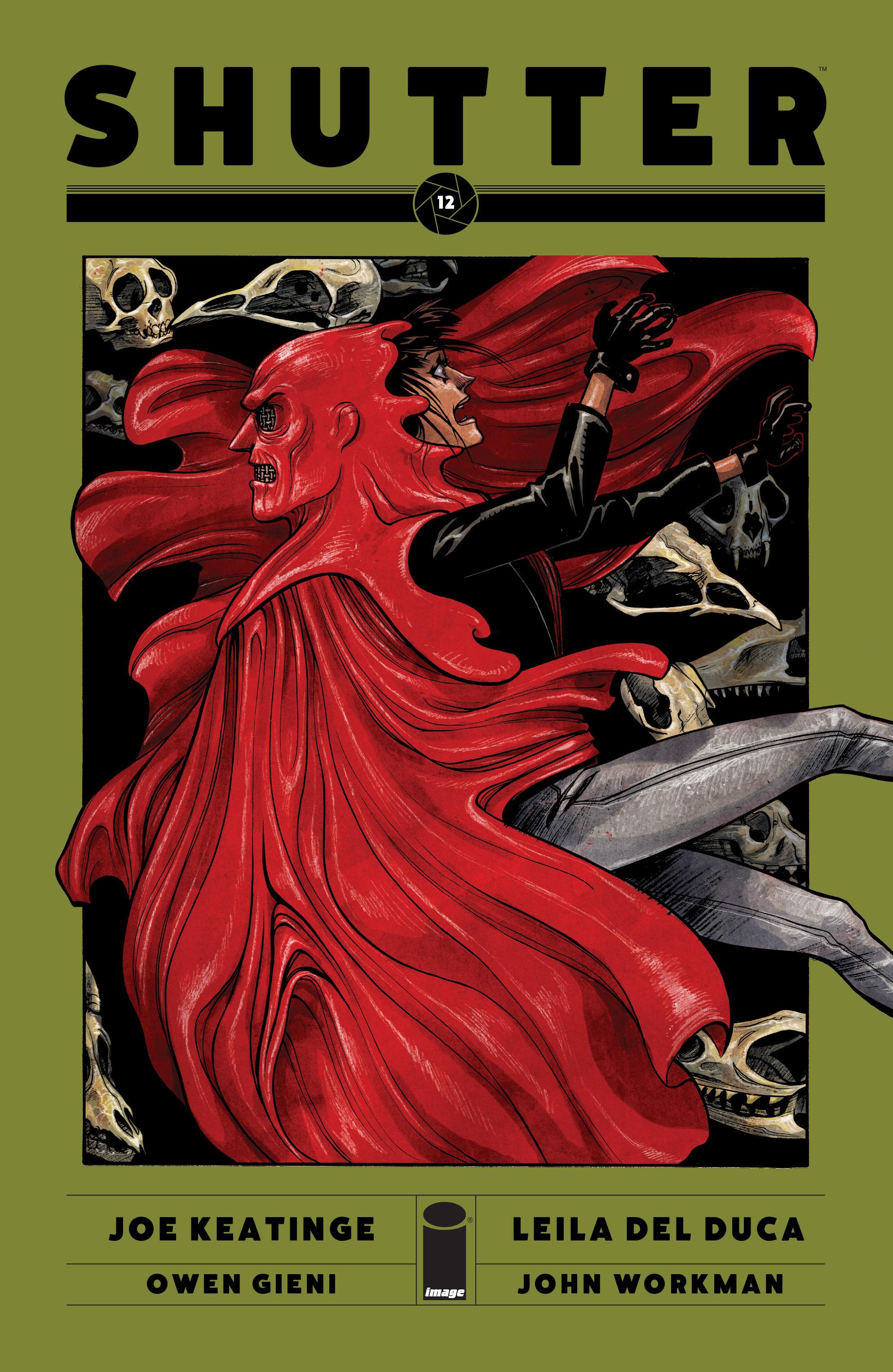 Read online Shutter comic -  Issue #12 - 1