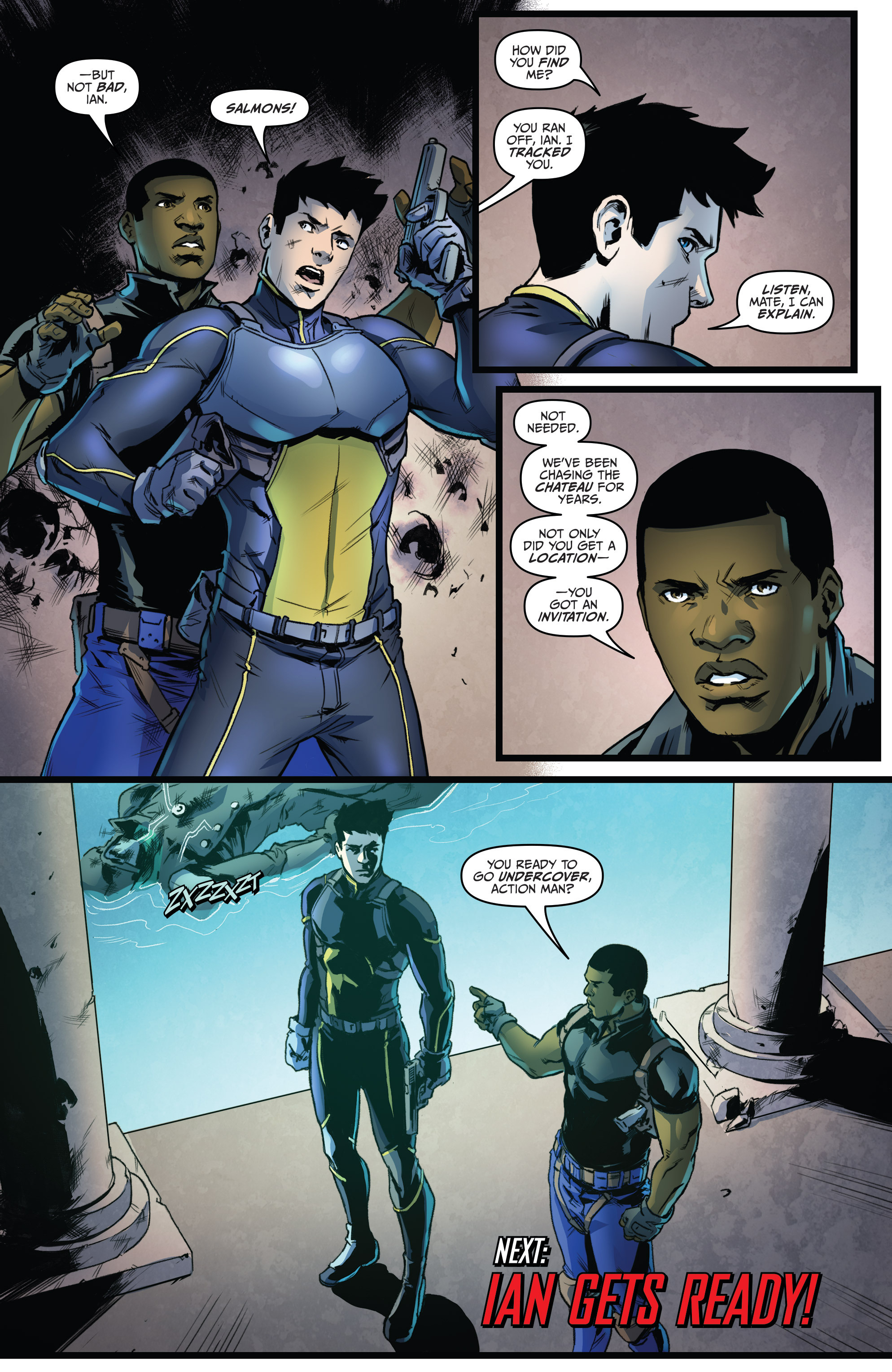 Read online Action Man comic -  Issue #2 - 24