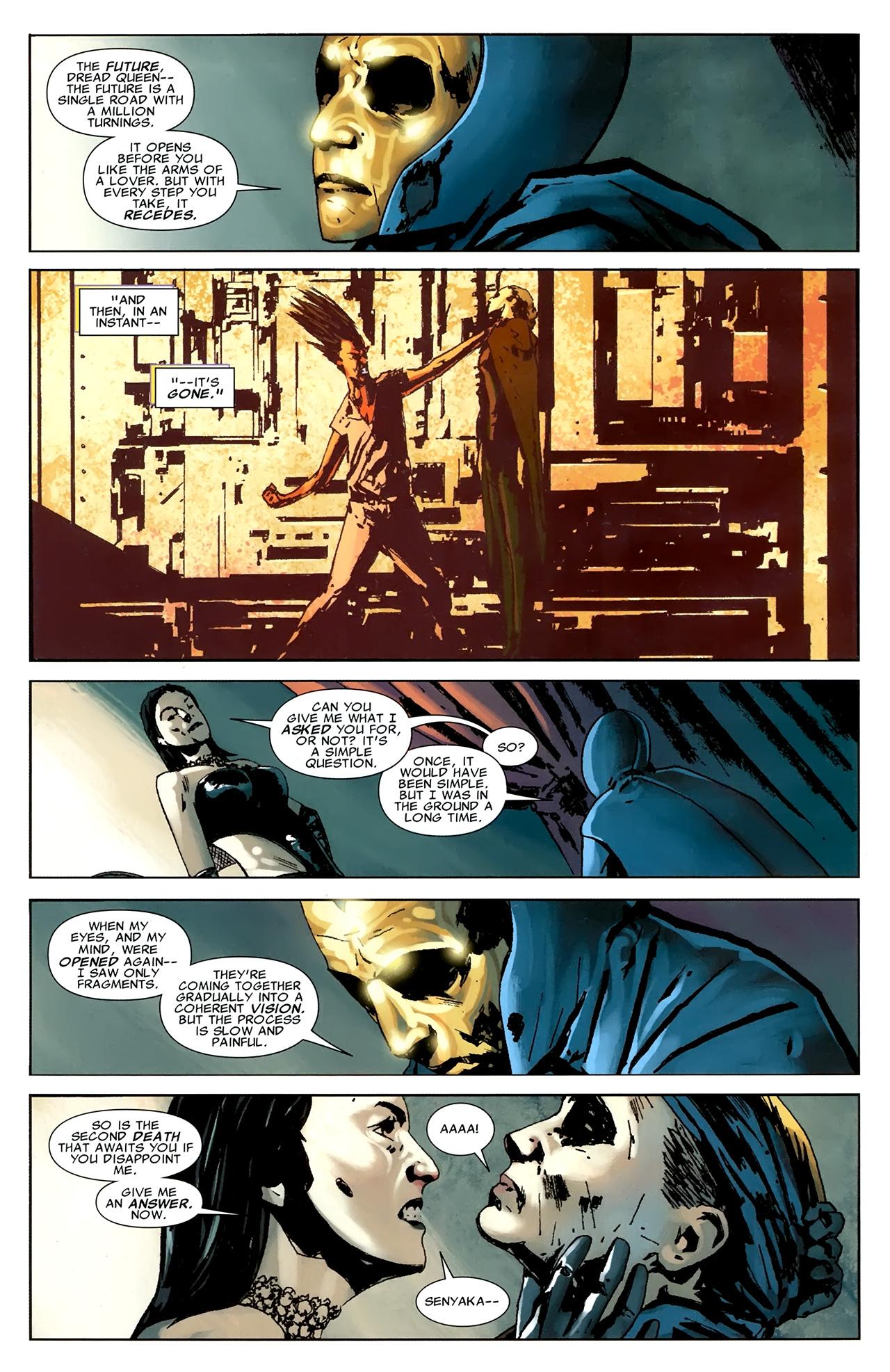 Read online X Necrosha comic -  Issue # Full - 40