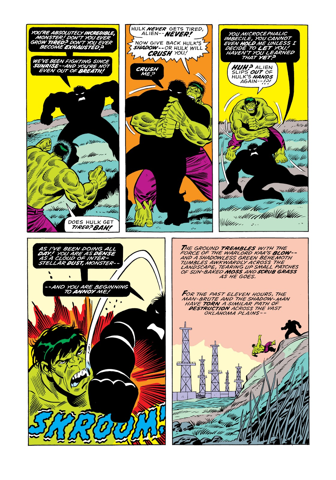 Read online Marvel Masterworks: The Incredible Hulk comic -  Issue # TPB 11 (Part 1) - 20