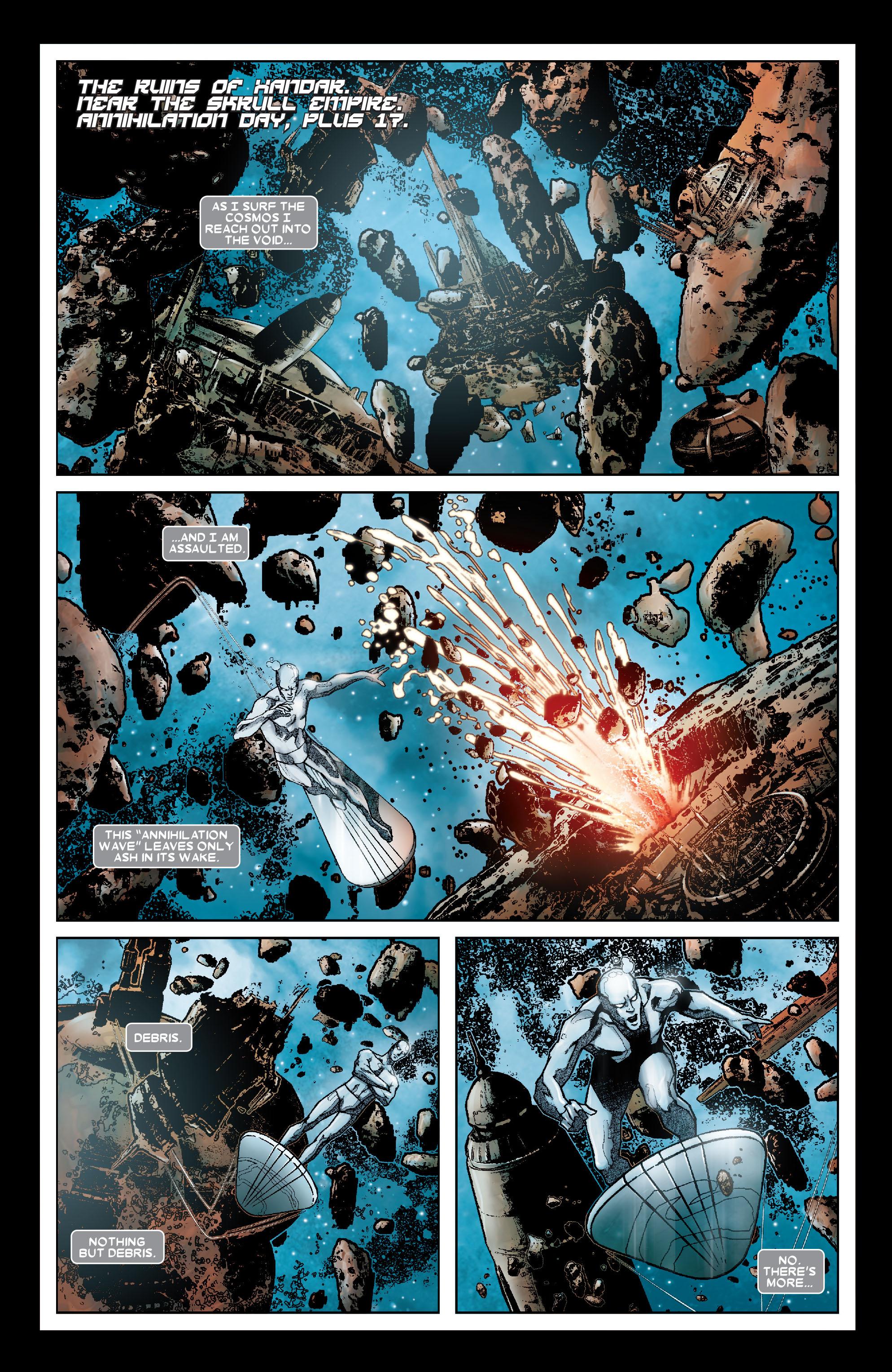 Read online Annihilation: Silver Surfer comic -  Issue #1 - 2