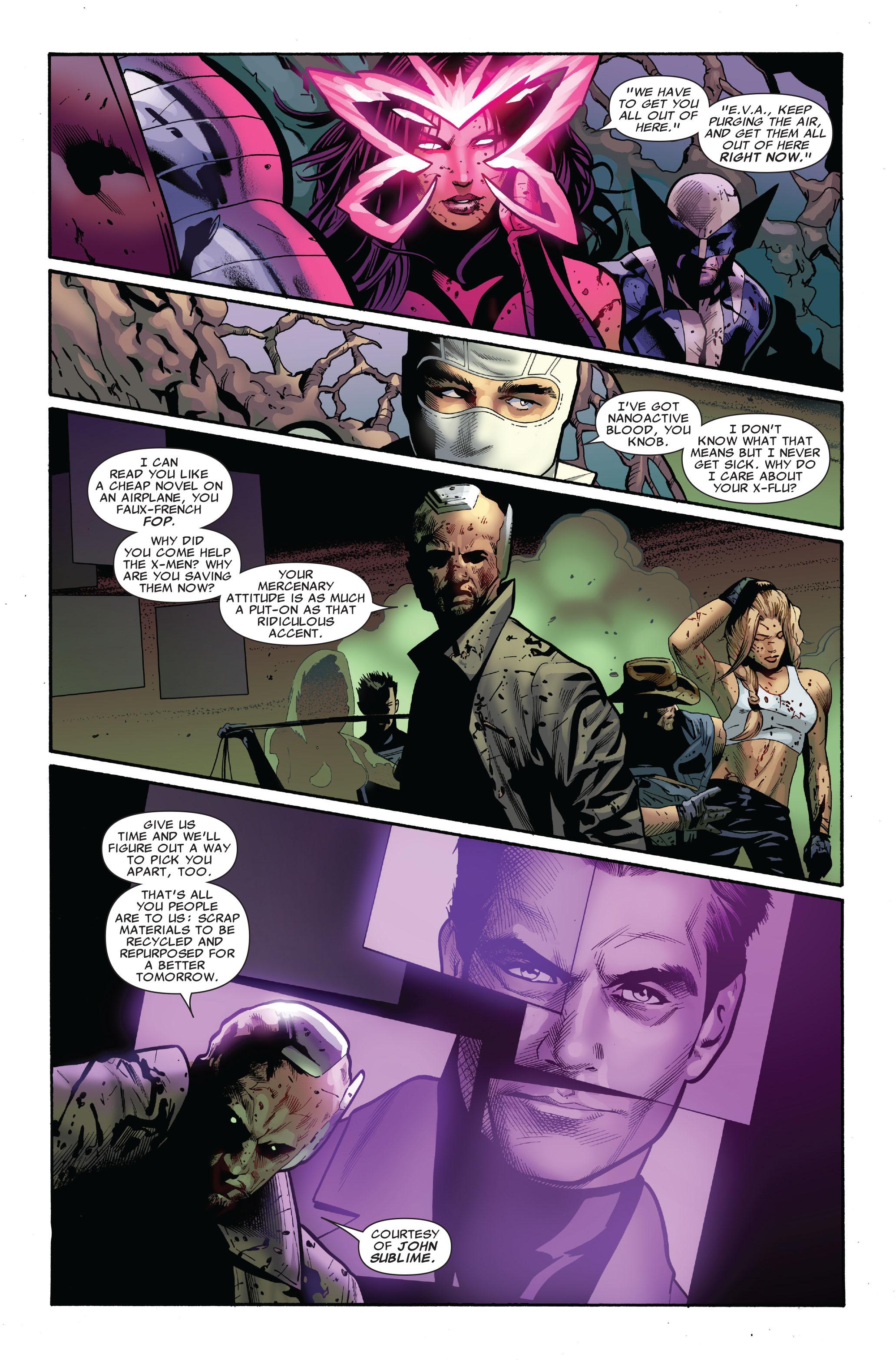 Read online Uncanny X-Men (1963) comic -  Issue #521 - 20