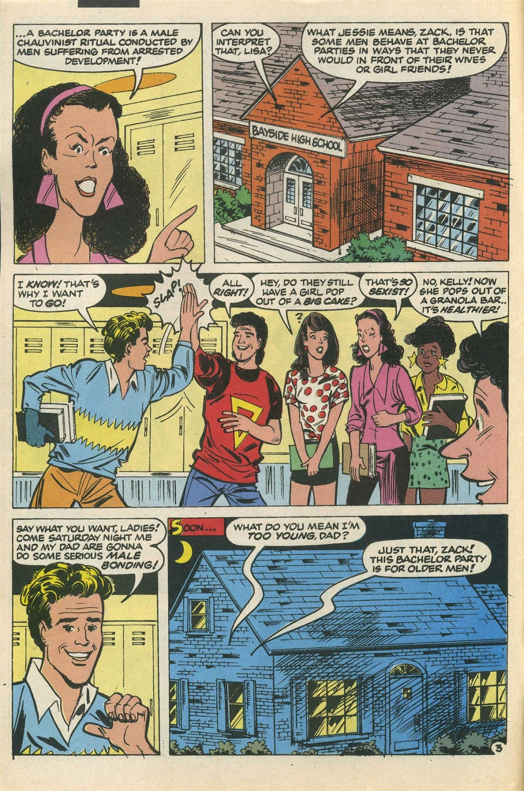 Read online Saved By The Bell comic -  Issue #3 - 6