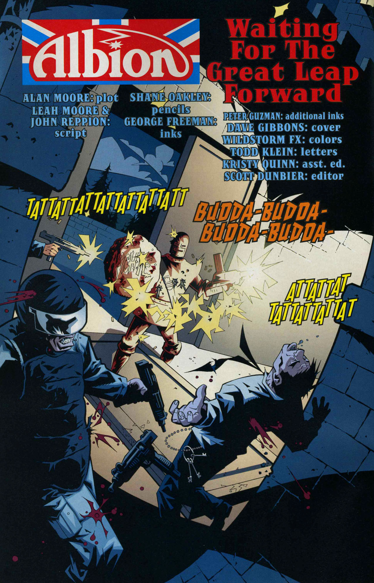 Read online Albion comic -  Issue #6 - 3