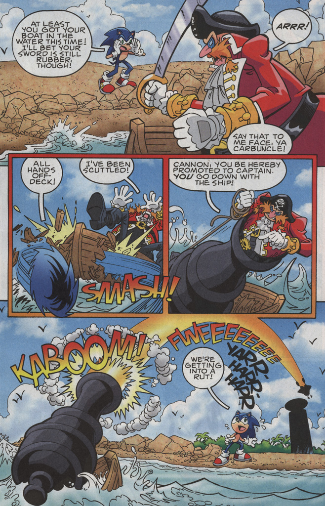 Read online Sonic X comic -  Issue #35 - 11