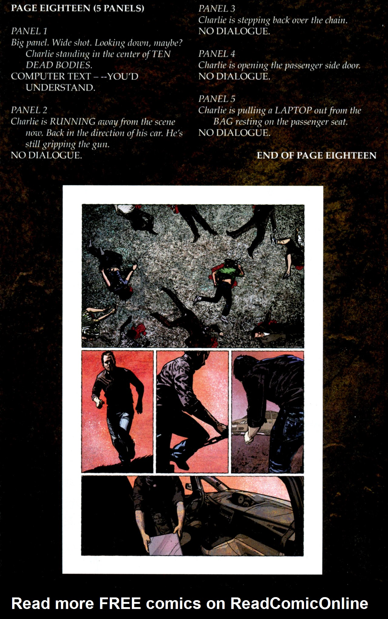 Read online Stephen King's N. comic -  Issue #4 - 32