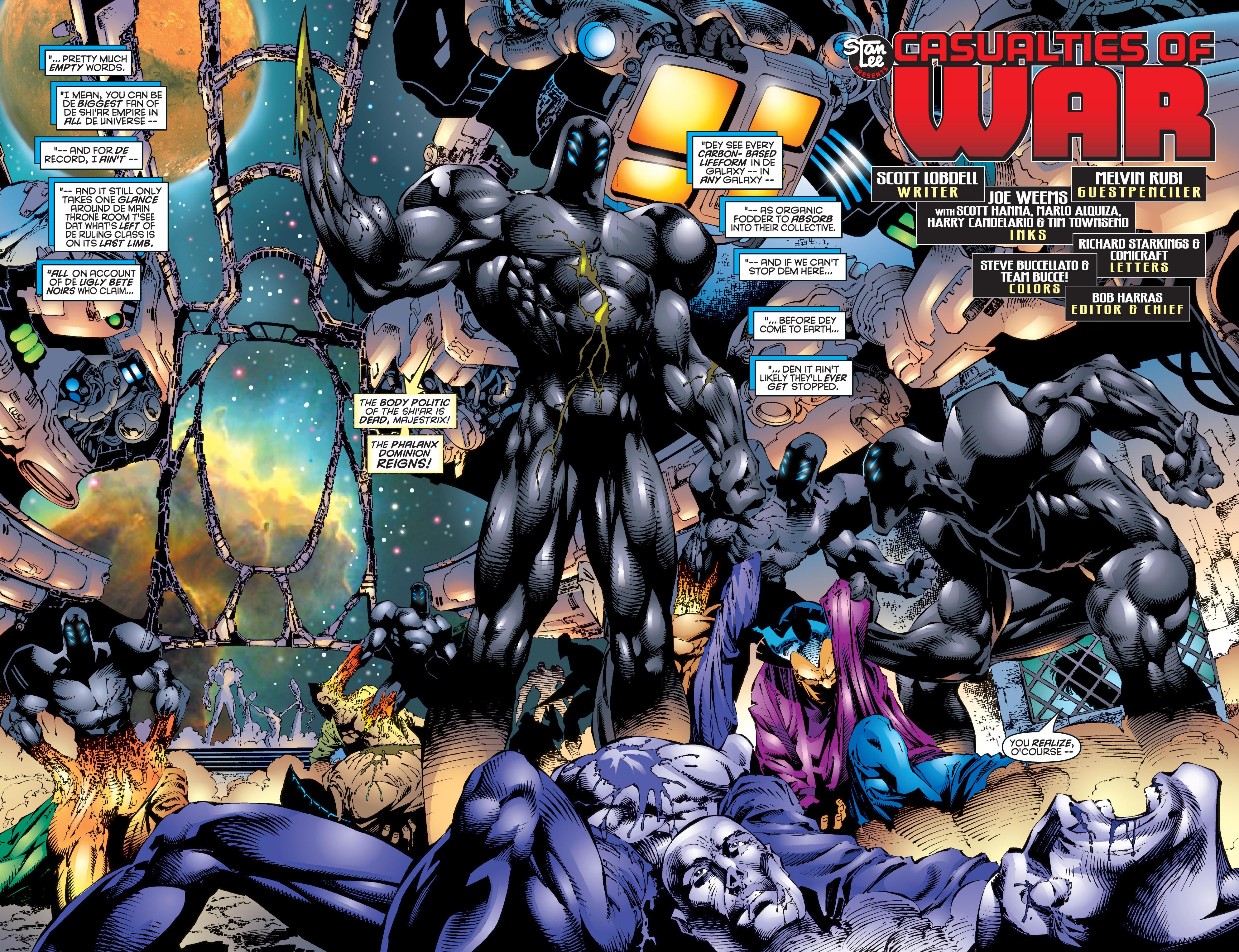 Read online Uncanny X-Men (1963) comic -  Issue #344 - 3