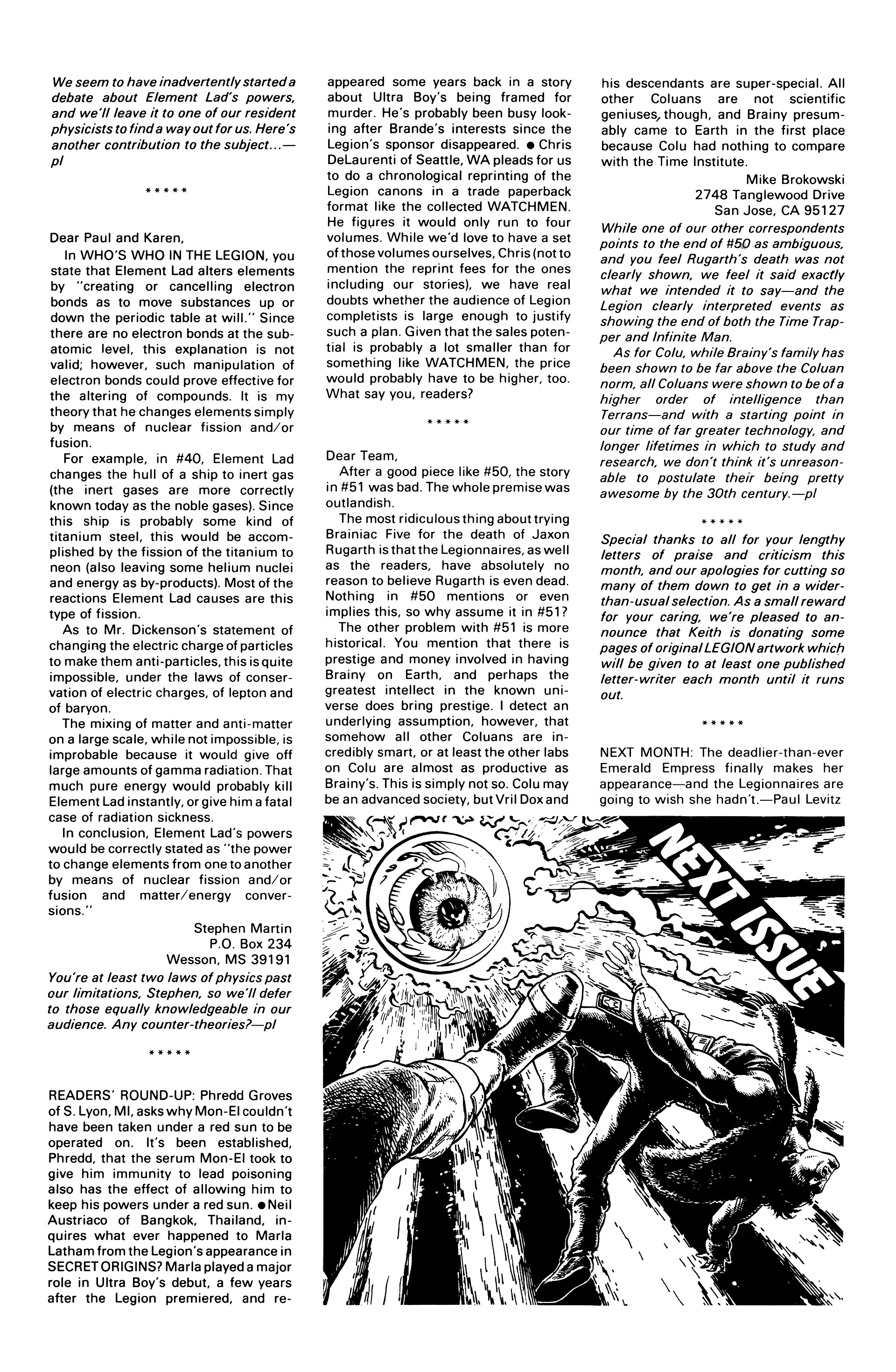 Legion of Super-Heroes (1984) 56 Page 29
