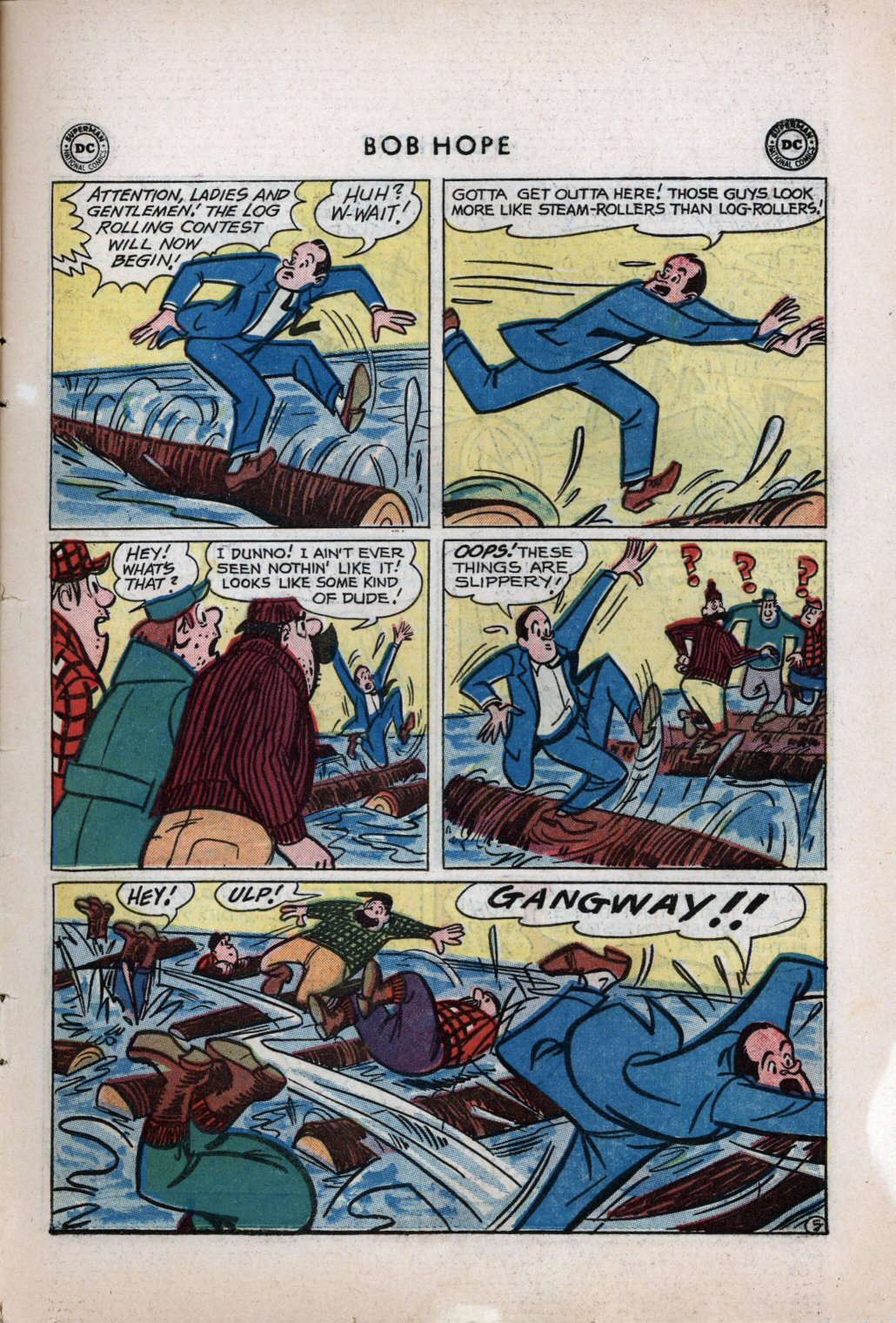 The Adventures of Bob Hope issue 59 - Page 7