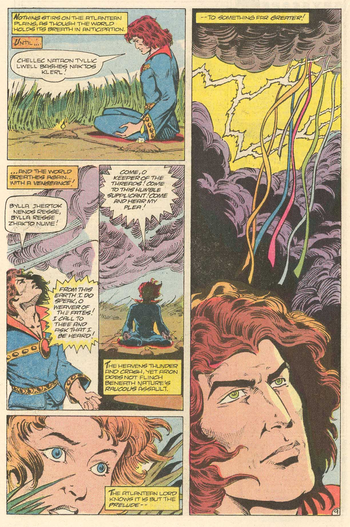 Read online Arion, Lord of Atlantis comic -  Issue #28 - 10