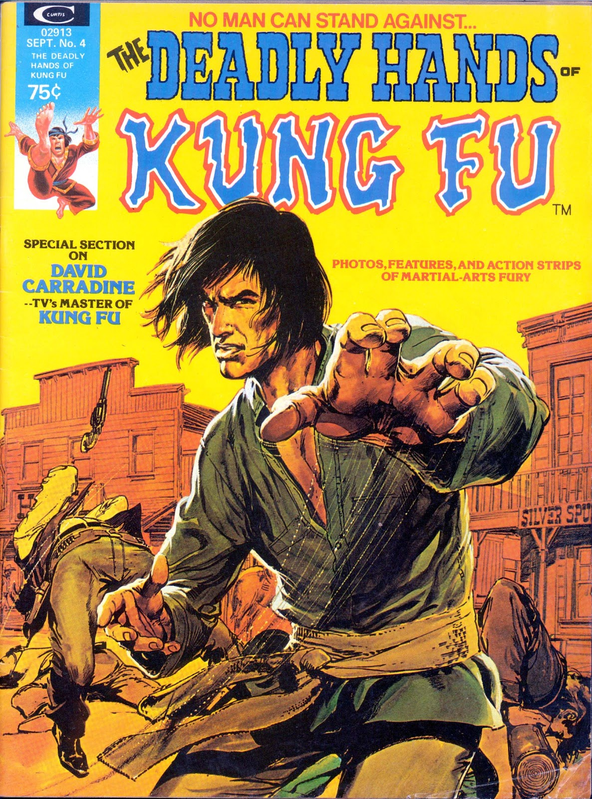 The Deadly Hands of Kung Fu issue 4 - Page 1