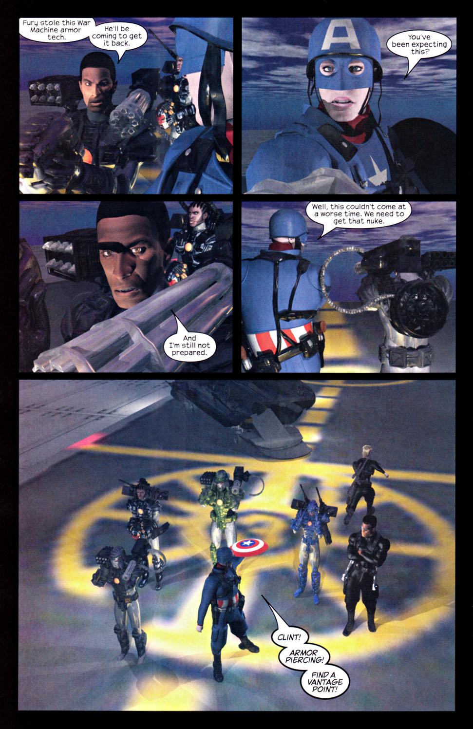 Read online U.S. War Machine 2.0 comic -  Issue #2 - 24