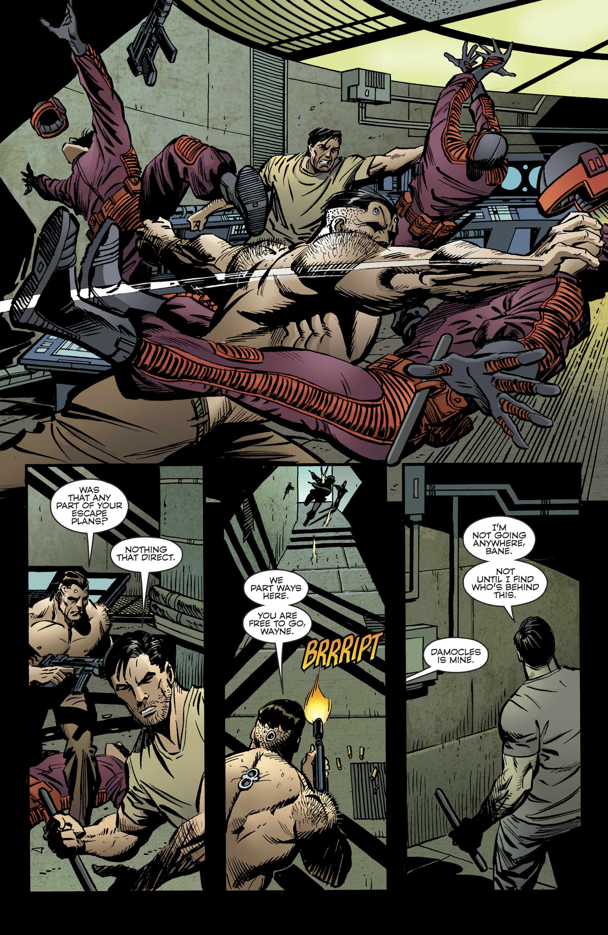 Read online Bane: Conquest comic -  Issue #2 - 20