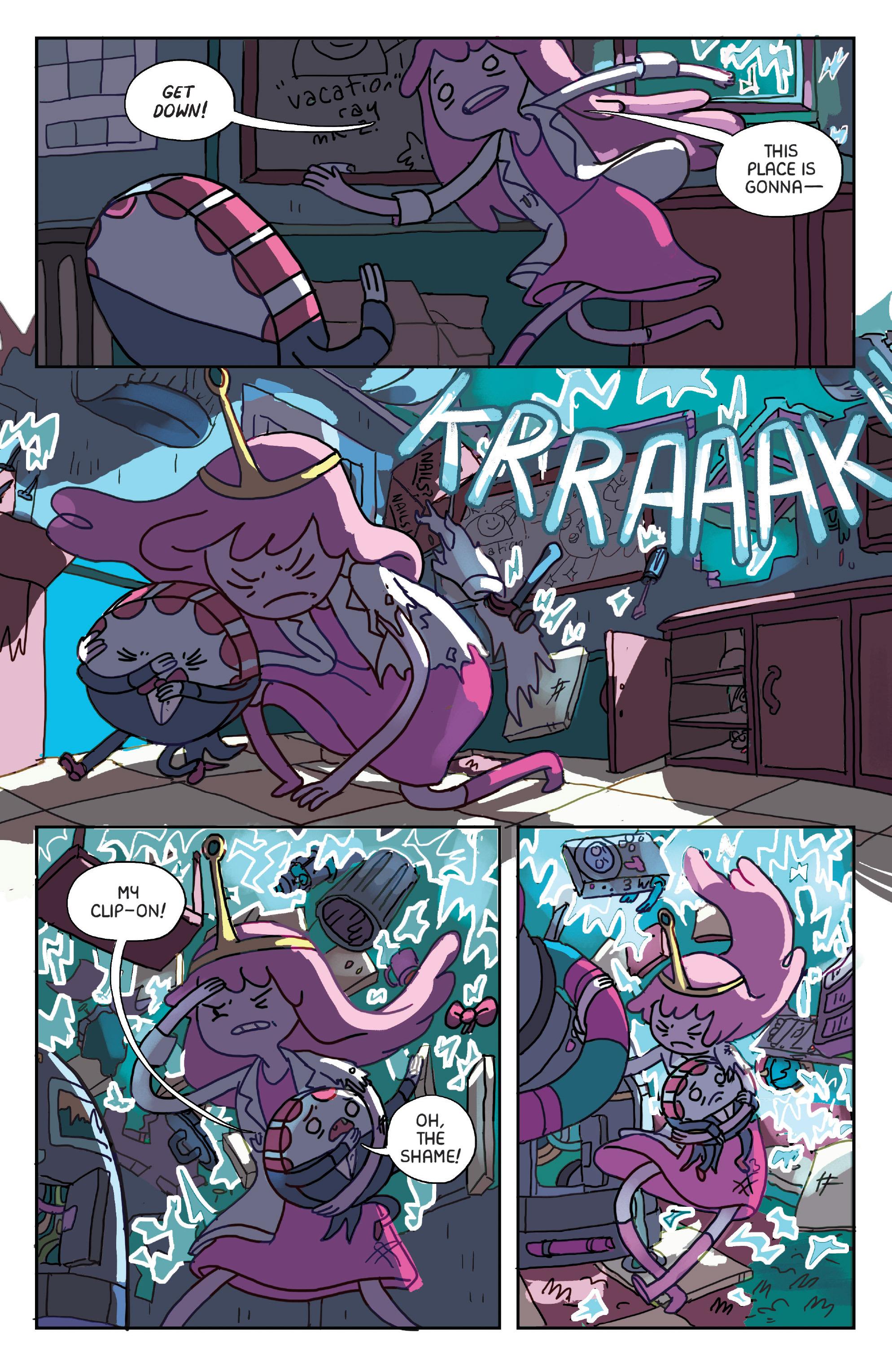 Read online Adventure Time: Marceline Gone Adrift comic -  Issue #1 - 12