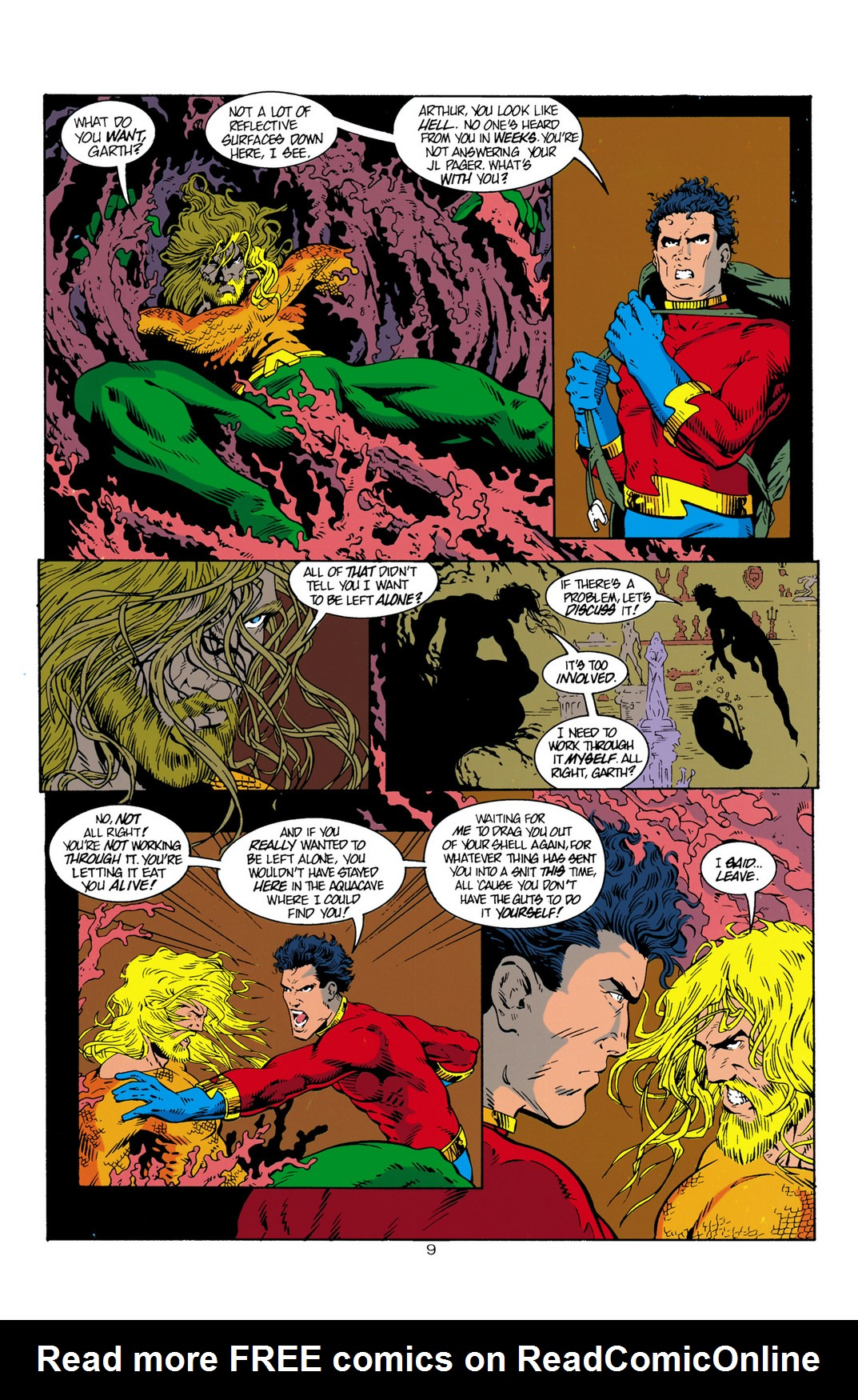Read online Aquaman (1994) comic -  Issue #1 - 10