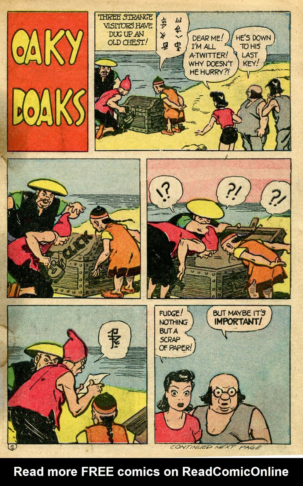 Read online Famous Funnies comic -  Issue #135 - 31