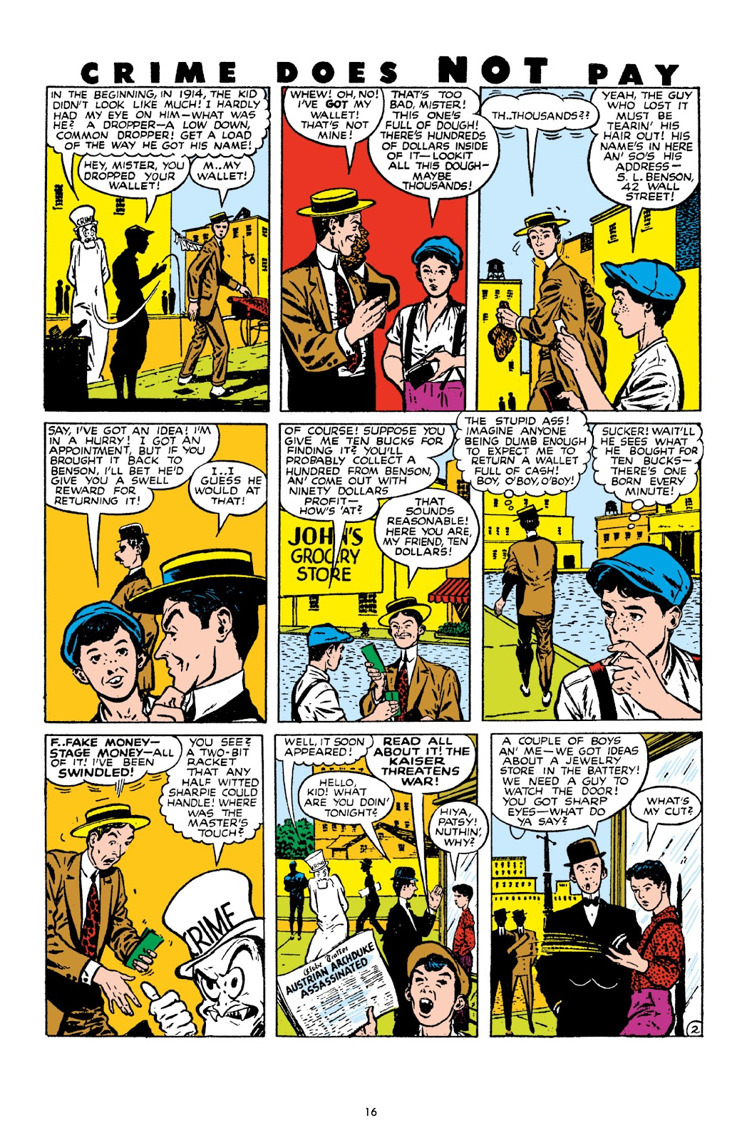 Read online Crime Does Not Pay Archives comic -  Issue # TPB 10 (Part 1) - 18
