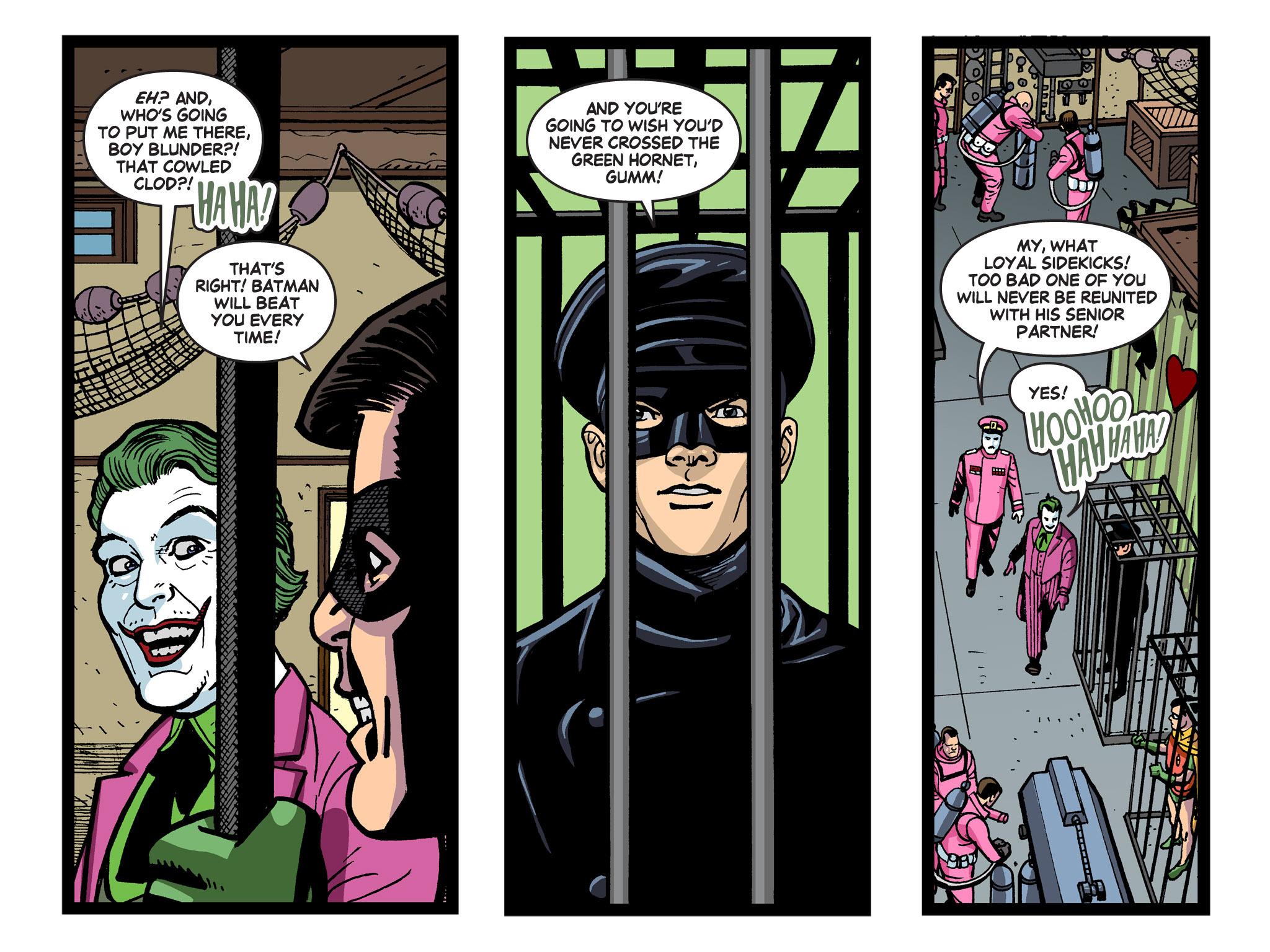 Read online Batman '66 Meets the Green Hornet [II] comic -  Issue #5 - 89
