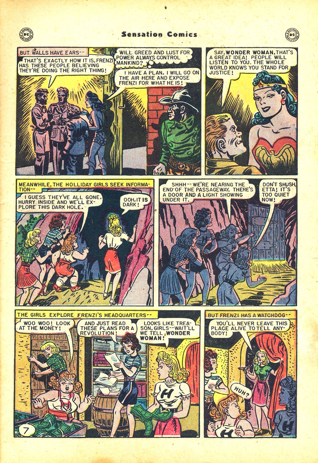 Read online Sensation (Mystery) Comics comic -  Issue #81 - 9