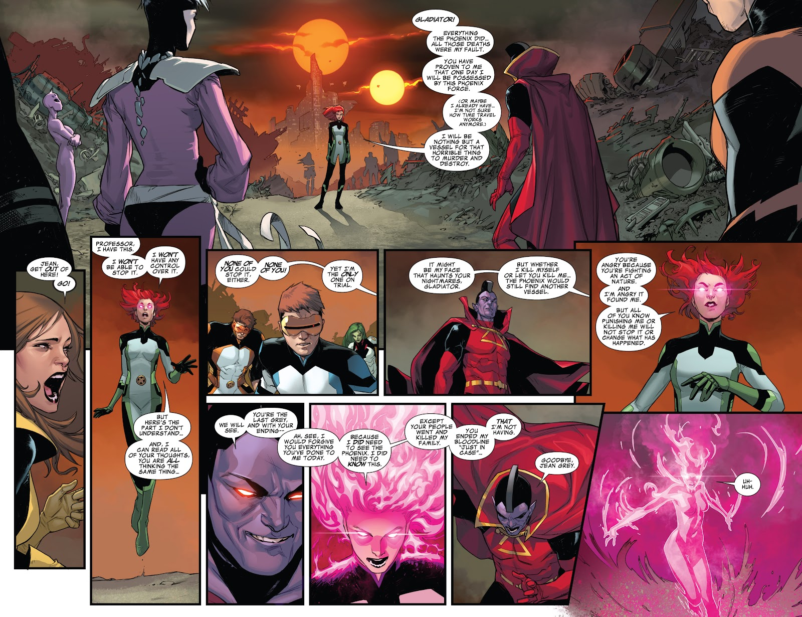 Guardians of the Galaxy/All-New X-Men: The Trial of Jean Grey issue TPB - Page 99
