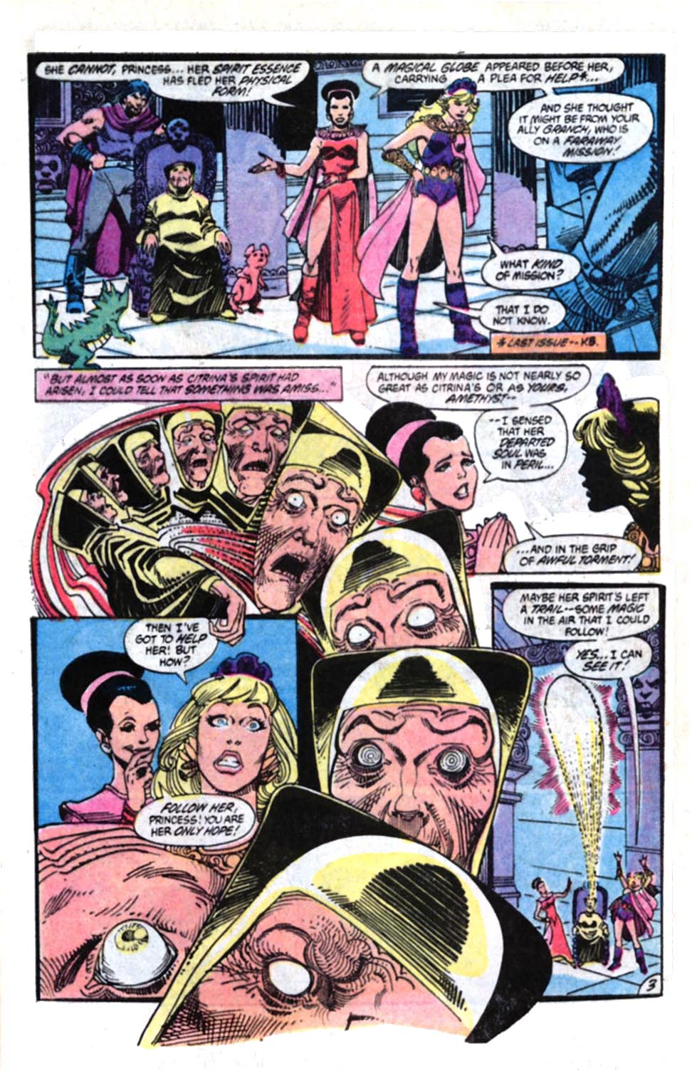 Read online Amethyst, Princess of Gemworld comic -  Issue #4 - 4