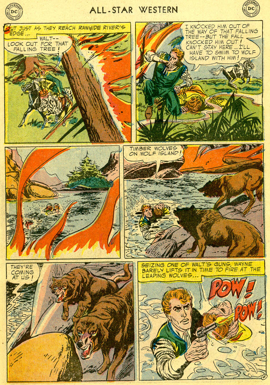 Read online All-Star Western (1951) comic -  Issue #82 - 6