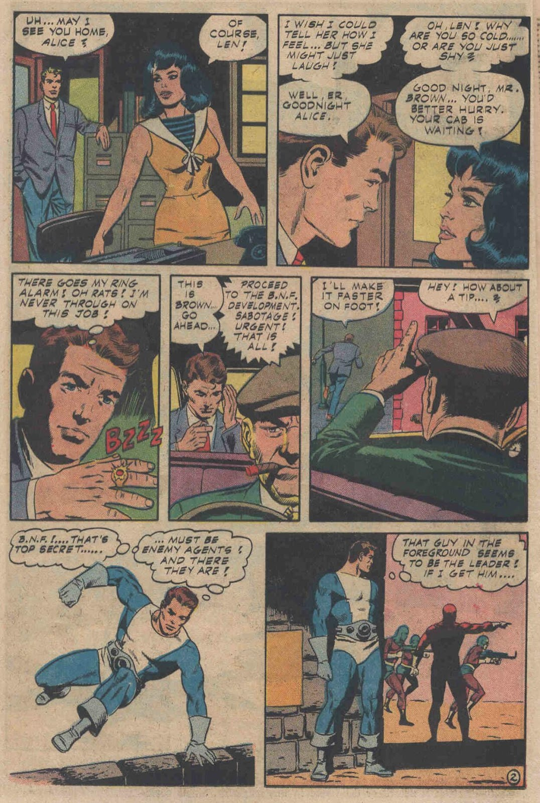 T.H.U.N.D.E.R. Agents (1965) issue 6 - Page 4