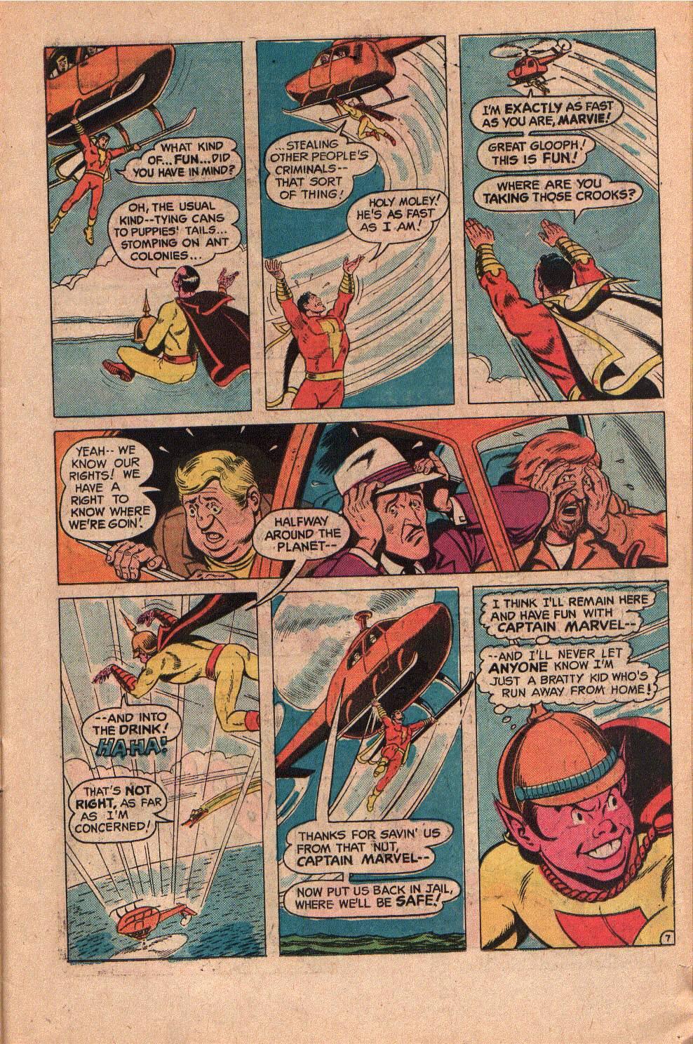 Read online Shazam! (1973) comic -  Issue #19 - 11