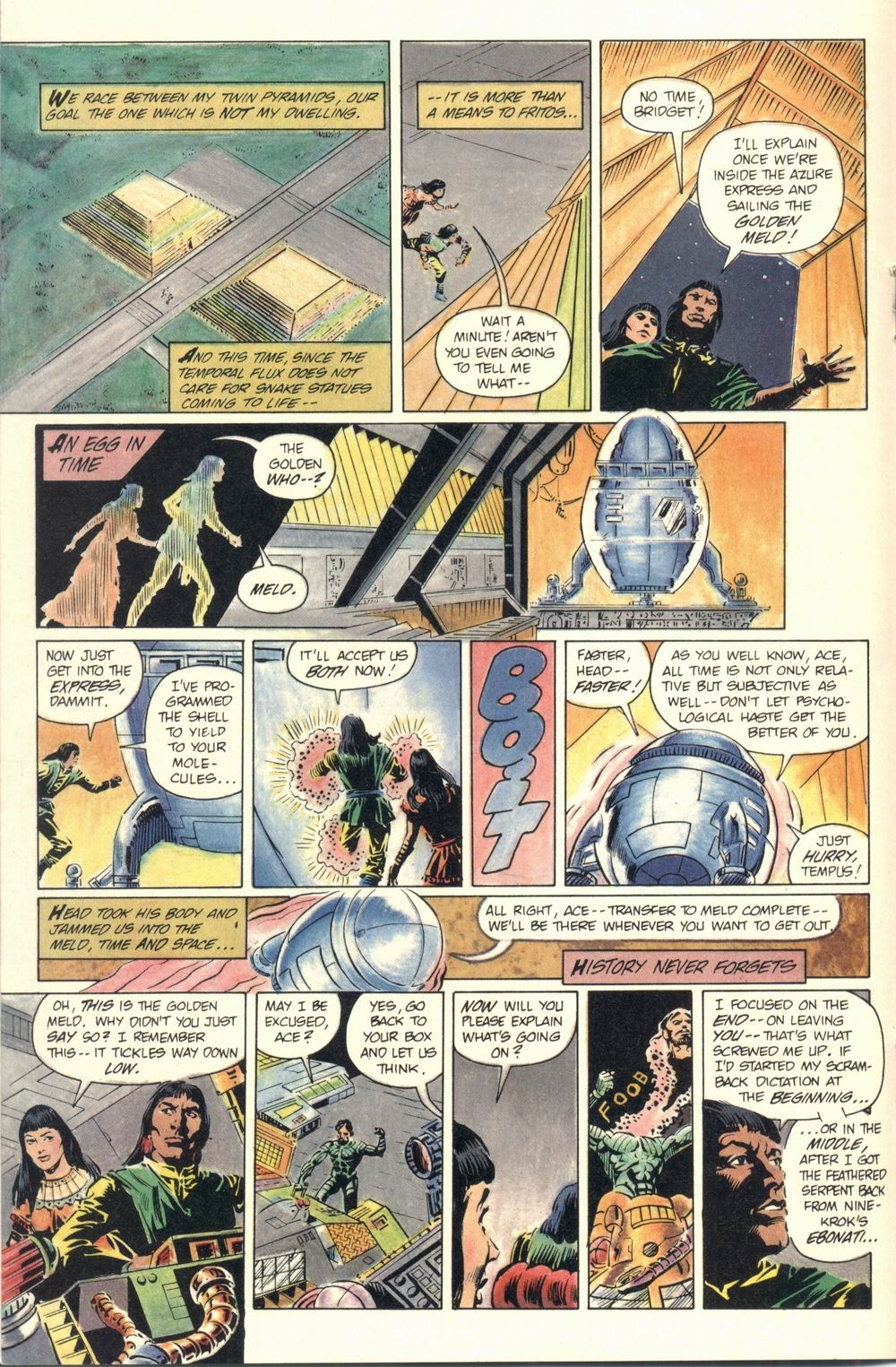 Read online Aztec Ace comic -  Issue #1 - 26