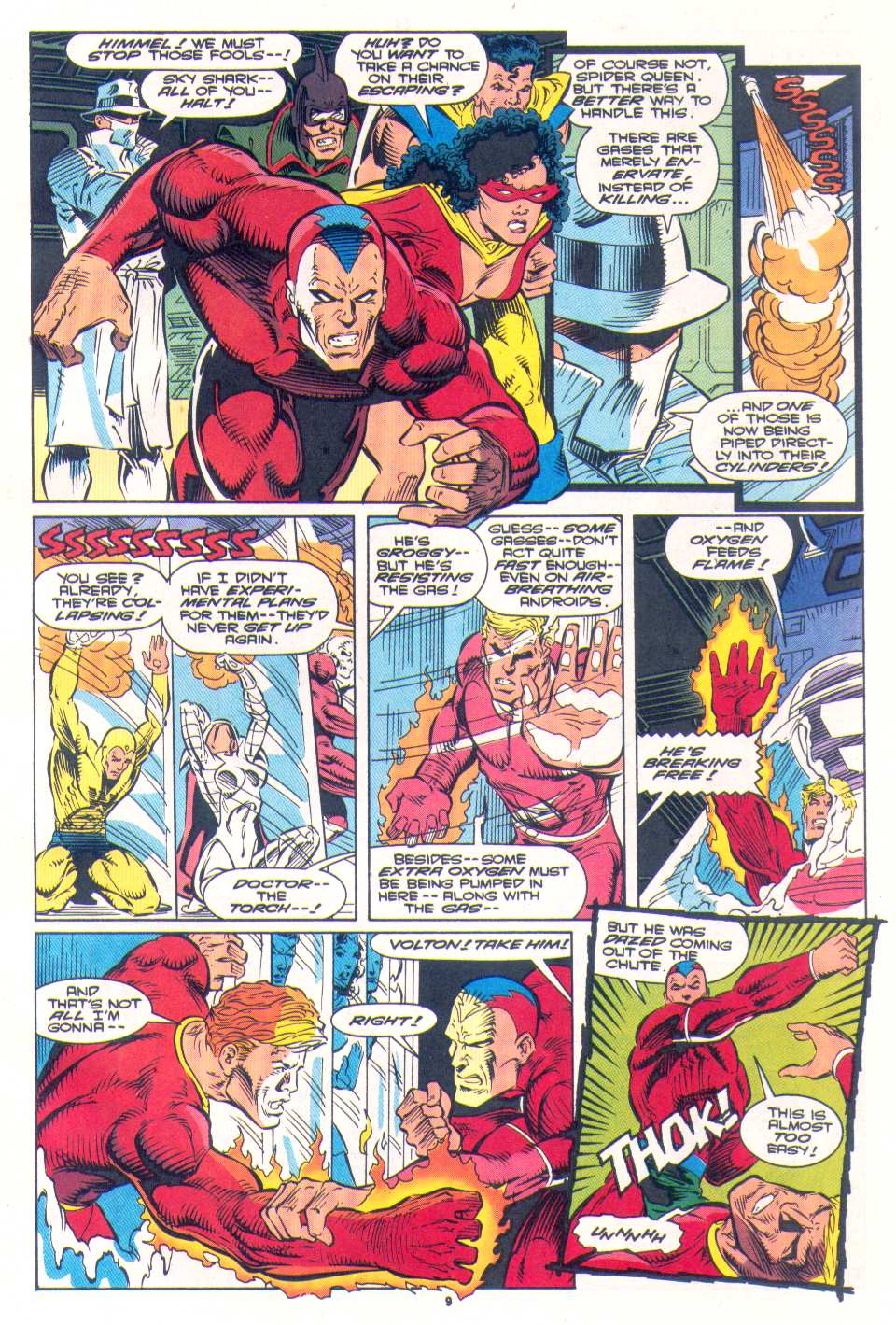 Read online The Invaders (1993) comic -  Issue #4 - 9