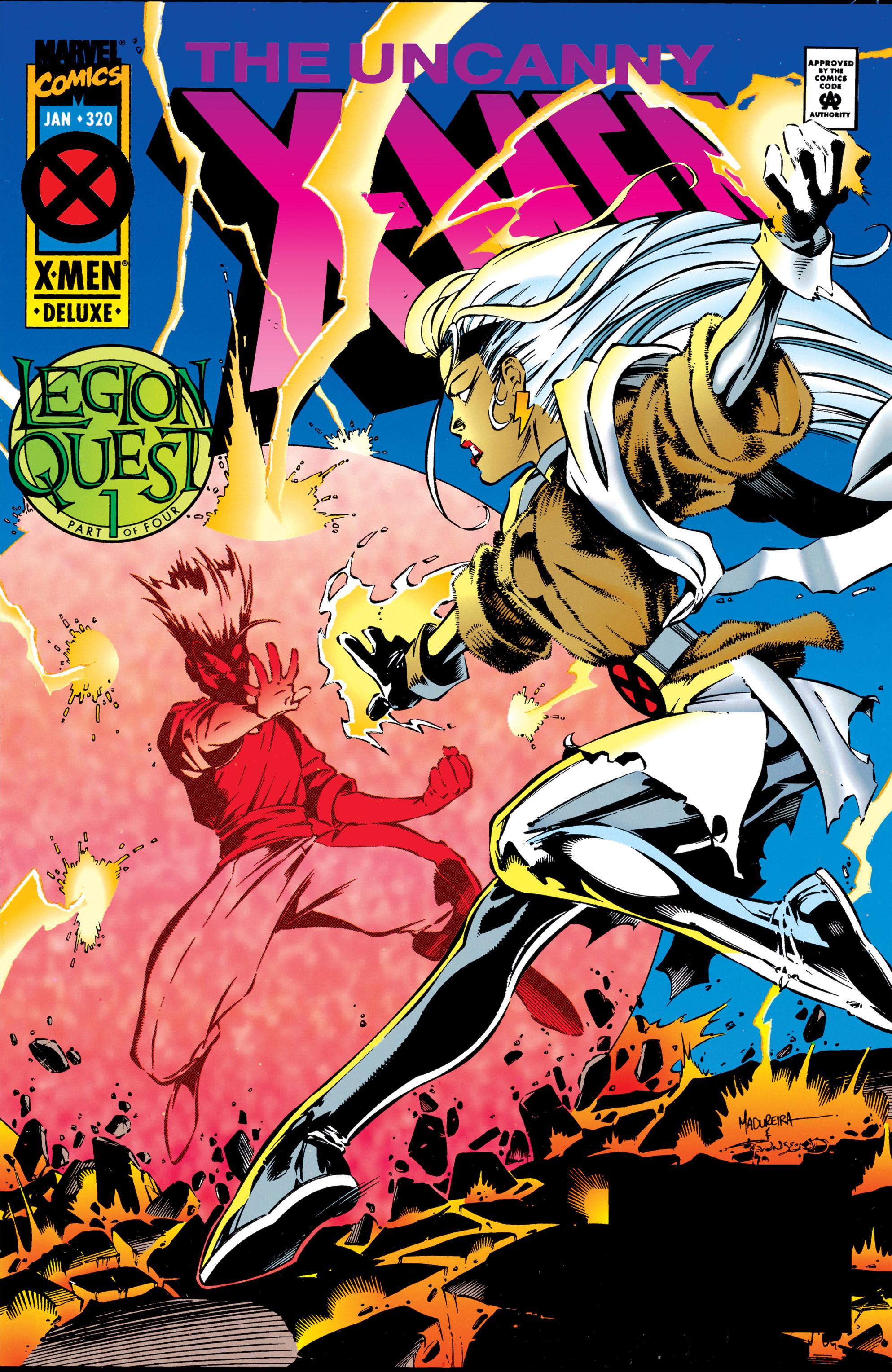 Uncanny X-Men (1963) 320 Page 1