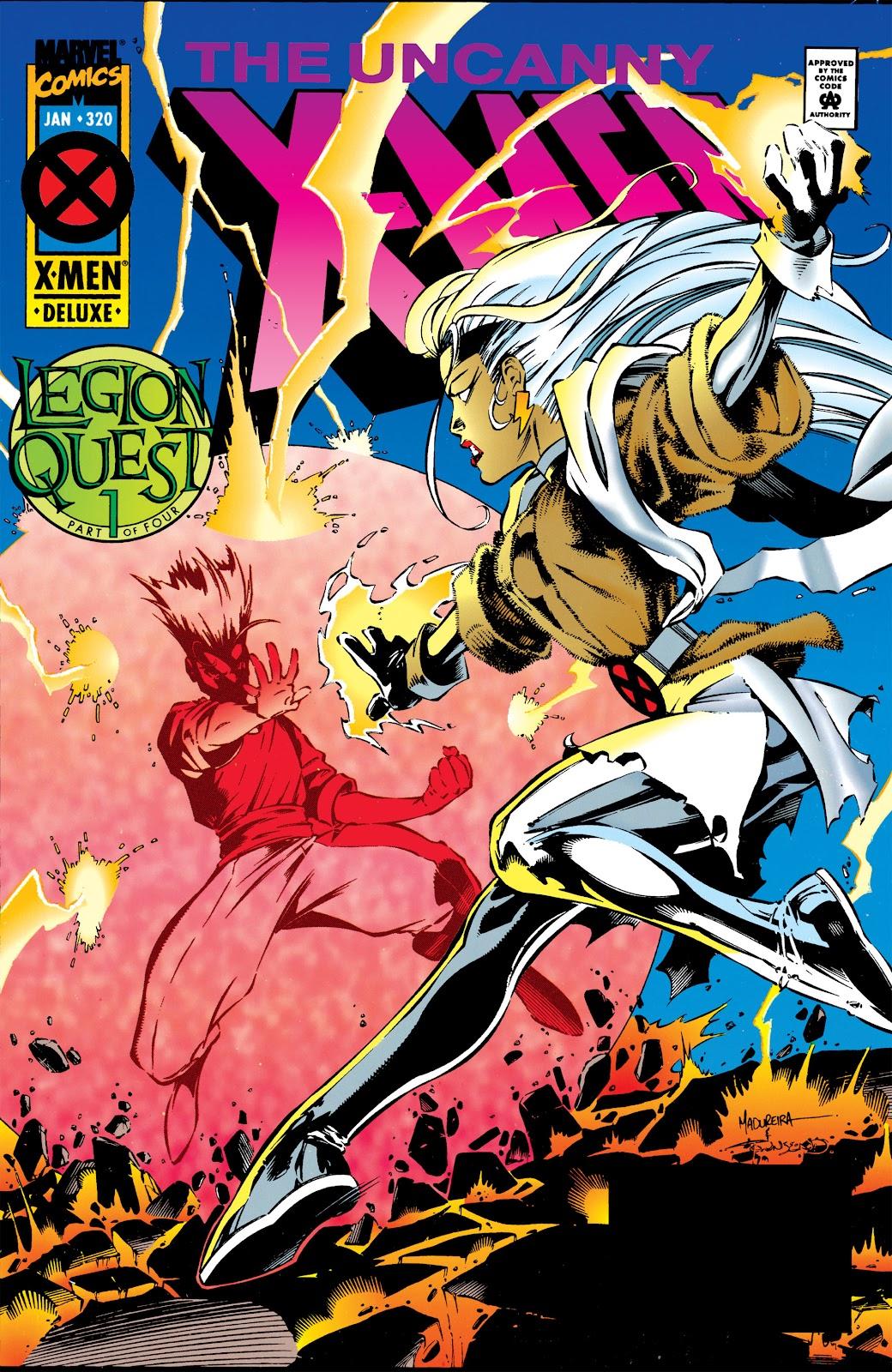 Uncanny X-Men (1963) issue 320 - Page 1