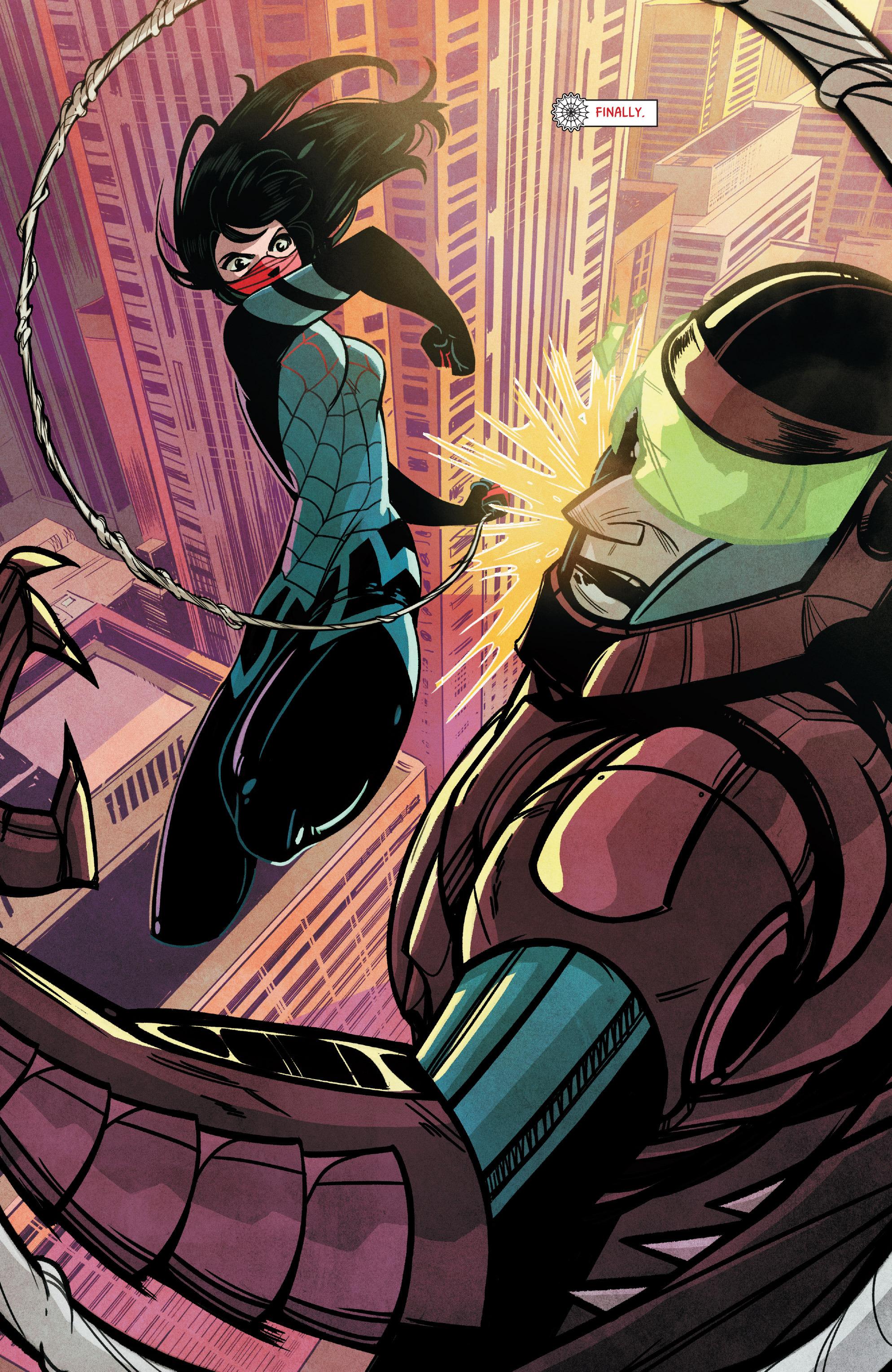 Read online Silk (2015) comic -  Issue #1 - 3